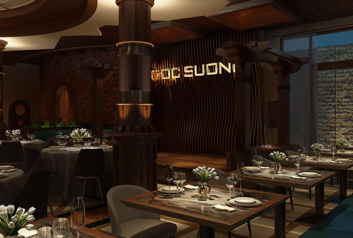 thiết kế nội thất Nhà Hàng tại Hồ Chí Minh Ngoc Suong Steak&Seafood 106 Suong Nguyen Anh, Sai Gon 6 1534746927