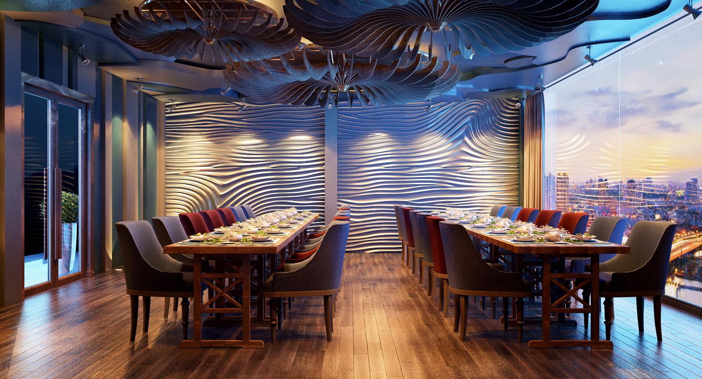 thiết kế nội thất Nhà Hàng tại Hồ Chí Minh Thiết Kế Nhà Hàng Ngọc Sương Bến Thuyền - Phú Nhuận 6 1534748478