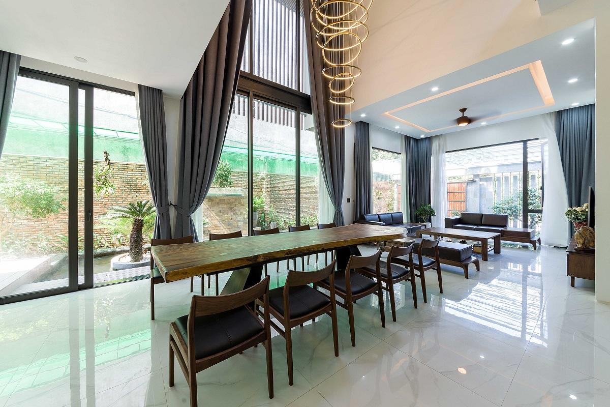 Thiết kế Biệt Thự tại Thanh Hóa Nhà Hàm Rồng - Tận hưởng thiên nhiên từ mọi không gian 1619424689 8