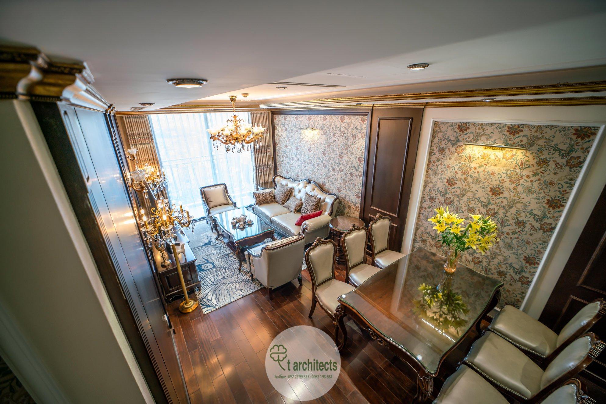 Thiết kế nội thất Chung Cư tại Hà Nội Thiết kế 6 căn hộ mẫu chung cư HC GOLDEN CITY 1589766598 0