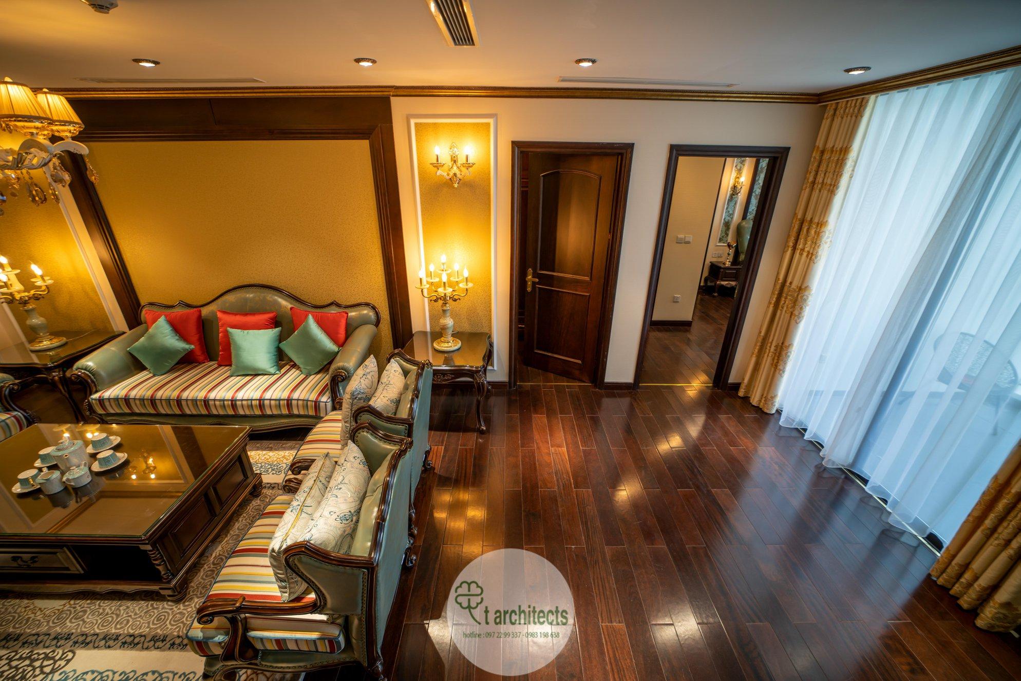 Thiết kế nội thất Chung Cư tại Hà Nội Thiết kế 6 căn hộ mẫu chung cư HC GOLDEN CITY 1589766599 14
