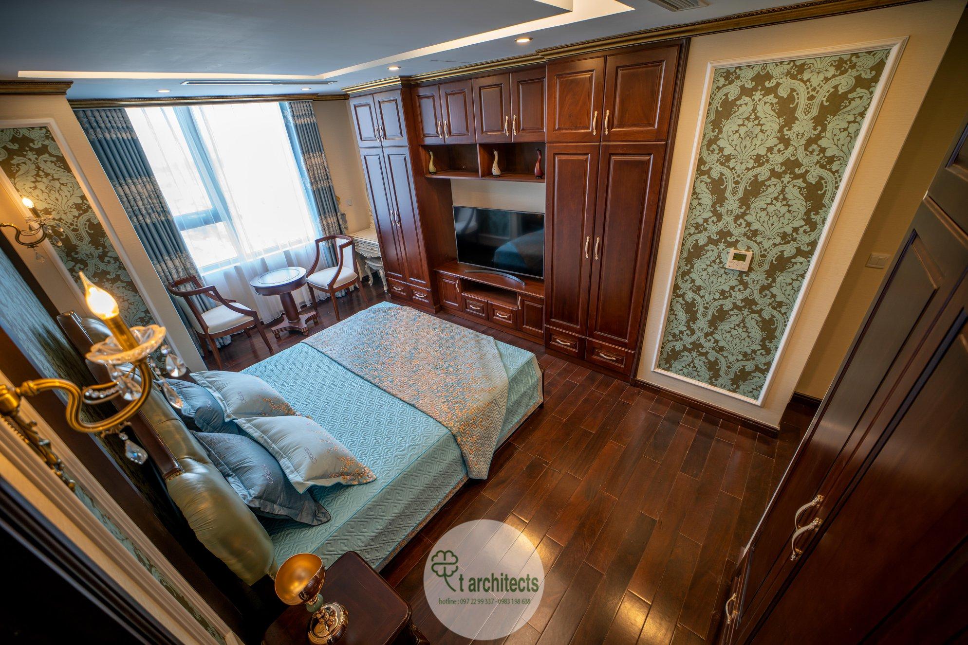 Thiết kế nội thất Chung Cư tại Hà Nội Thiết kế 6 căn hộ mẫu chung cư HC GOLDEN CITY 1589766599 16