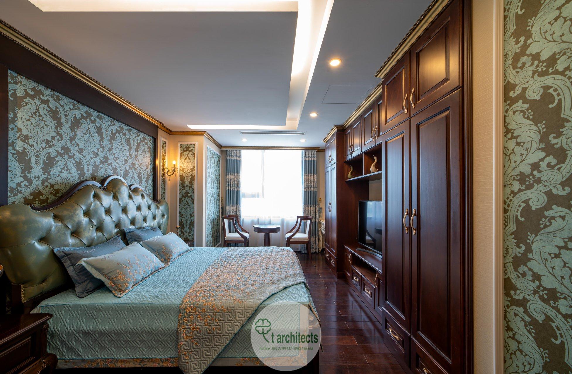 Thiết kế nội thất Chung Cư tại Hà Nội Thiết kế 6 căn hộ mẫu chung cư HC GOLDEN CITY 1589766599 20