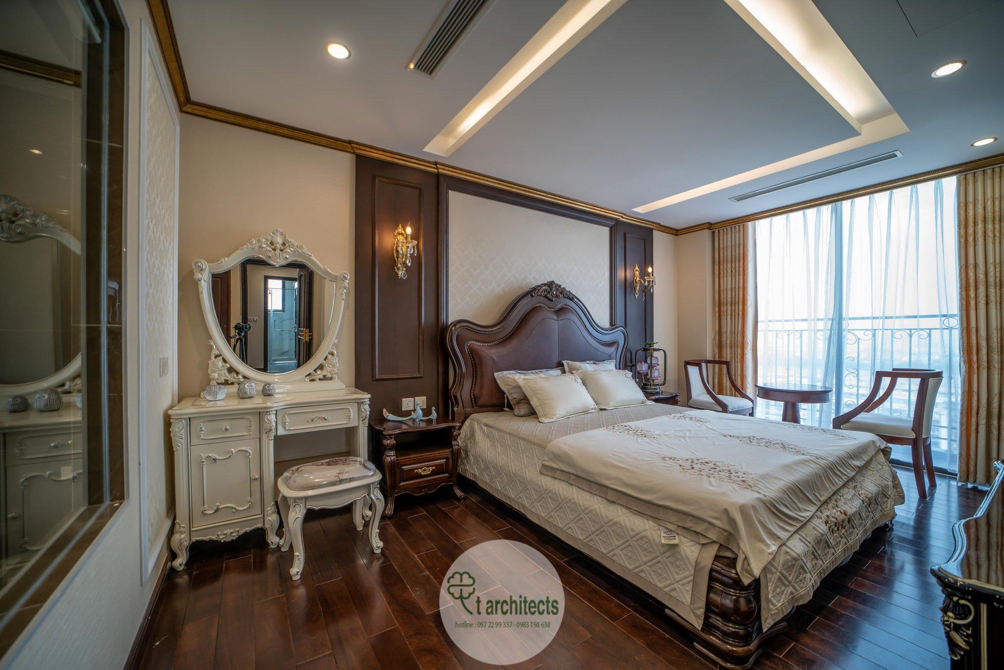 Thiết kế nội thất Chung Cư tại Hà Nội Thiết kế 6 căn hộ mẫu chung cư HC GOLDEN CITY 1589766599 22