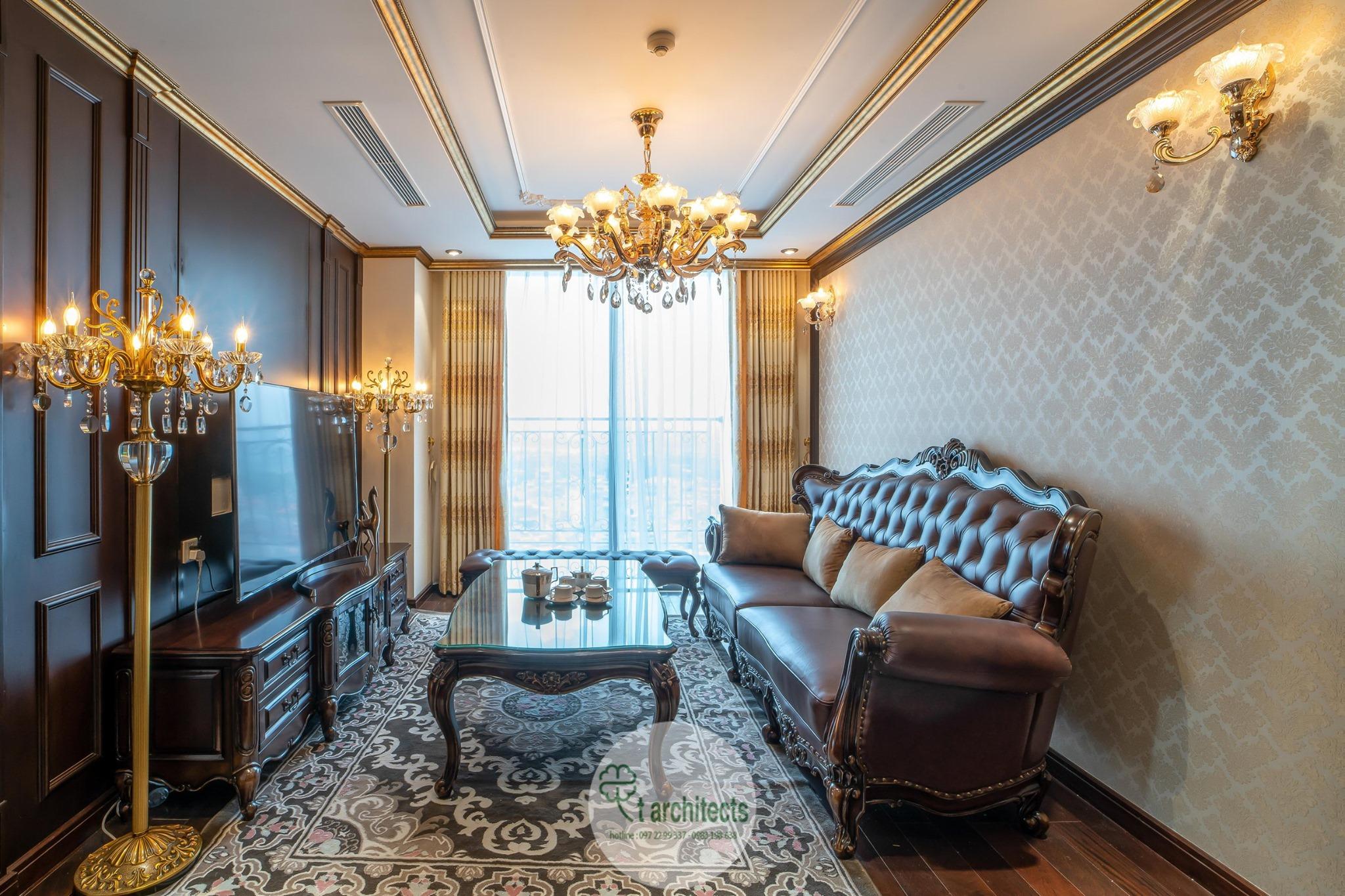 Thiết kế nội thất Chung Cư tại Hà Nội Thiết kế 6 căn hộ mẫu chung cư HC GOLDEN CITY 1589766599 5