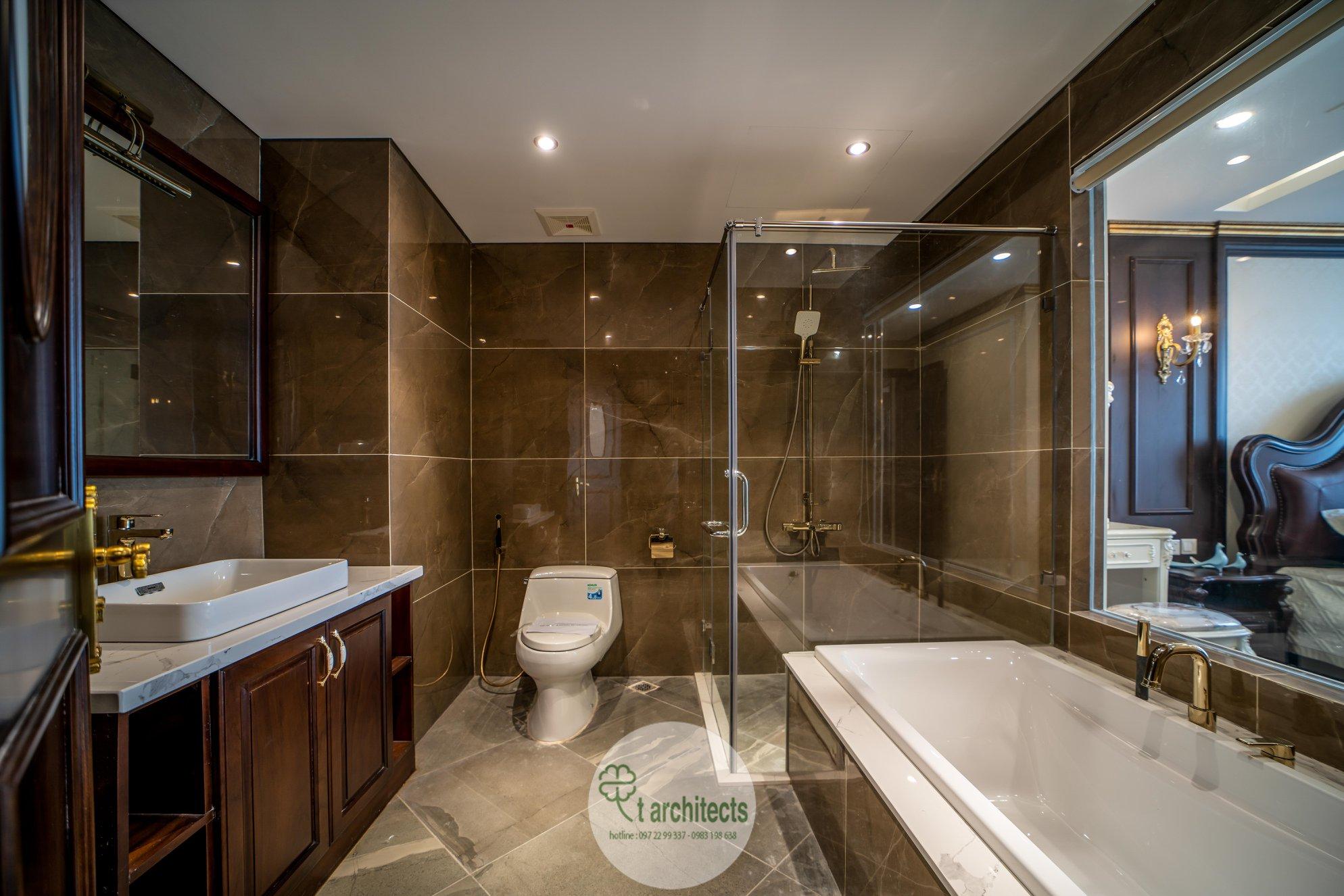 Thiết kế nội thất Chung Cư tại Hà Nội Thiết kế 6 căn hộ mẫu chung cư HC GOLDEN CITY 1589766599 9