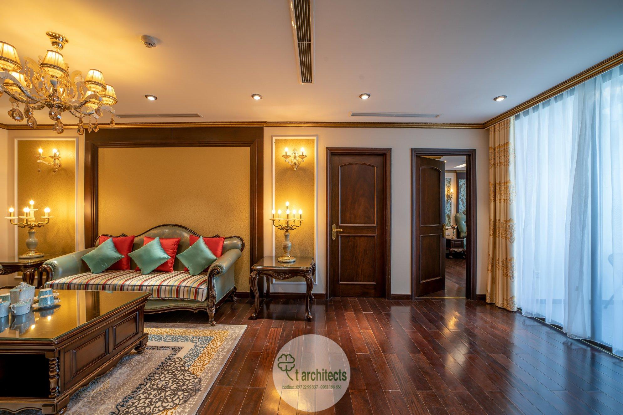 Thiết kế nội thất Chung Cư tại Hà Nội Thiết kế 6 căn hộ mẫu chung cư HC GOLDEN CITY 1589766600 23