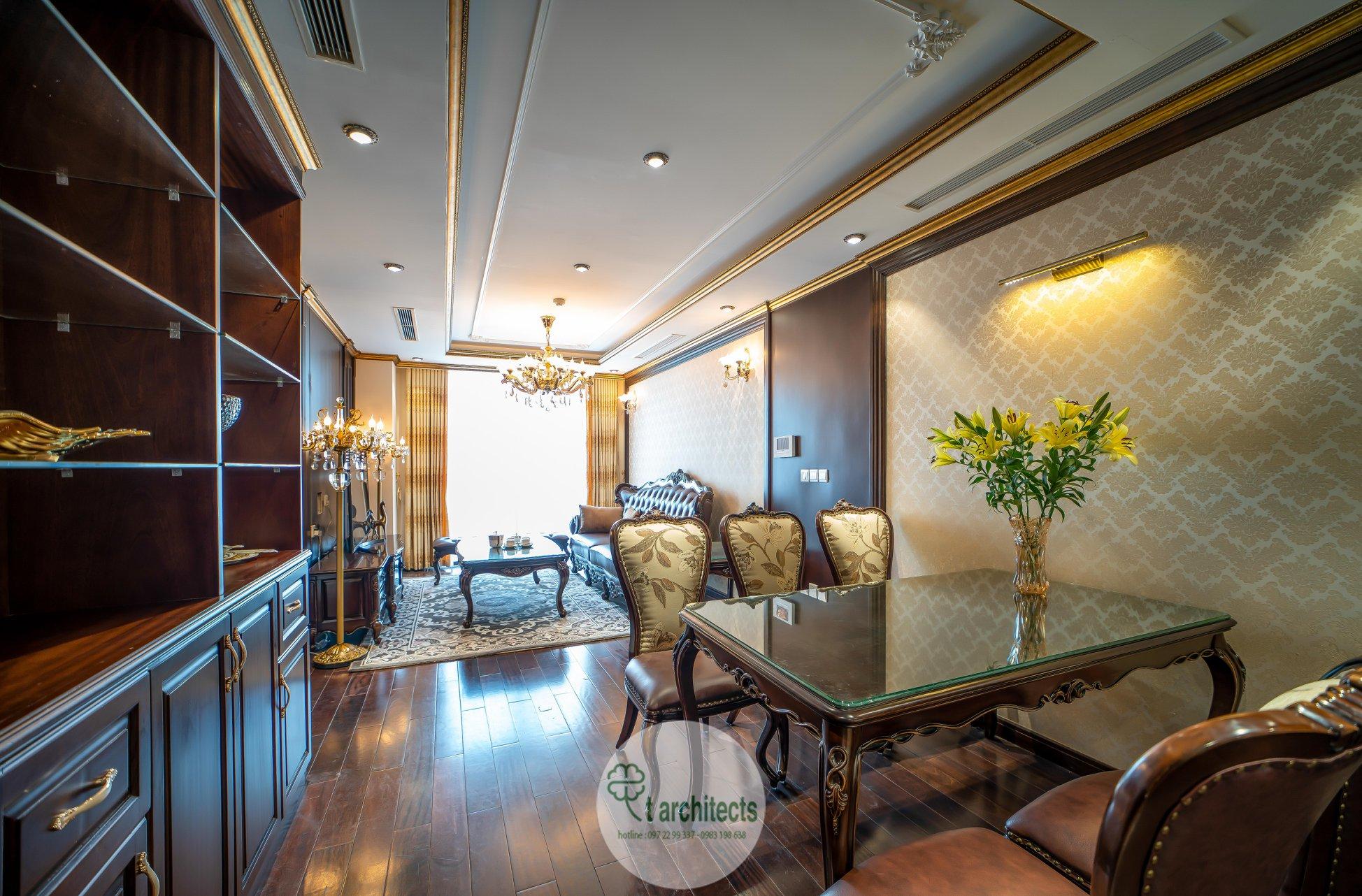 Thiết kế nội thất Chung Cư tại Hà Nội Thiết kế 6 căn hộ mẫu chung cư HC GOLDEN CITY 1589766600 24