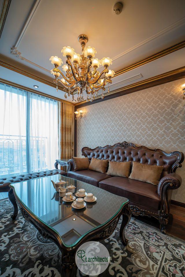 Thiết kế nội thất Chung Cư tại Hà Nội Thiết kế 6 căn hộ mẫu chung cư HC GOLDEN CITY 1589766601 27