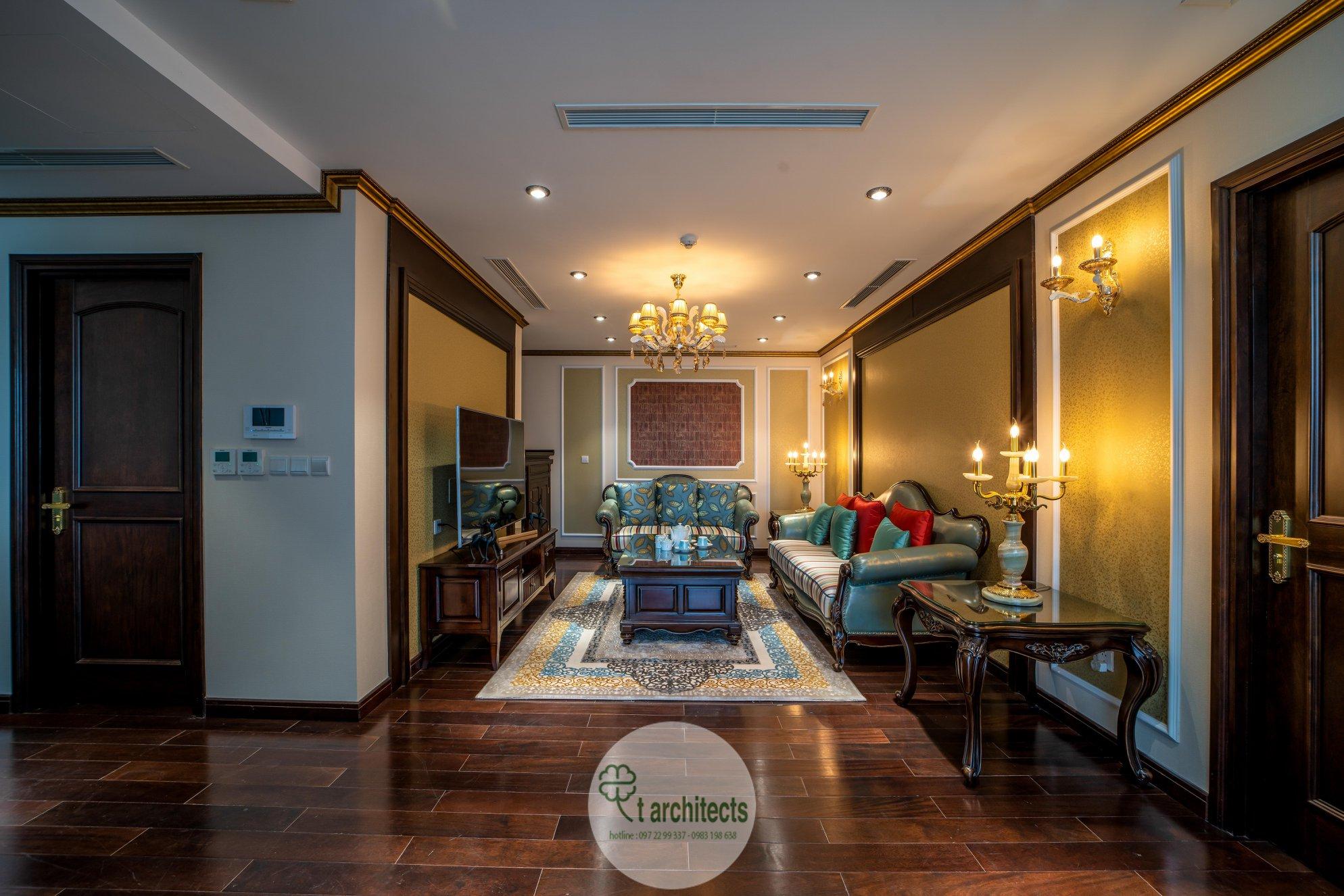 Thiết kế nội thất Chung Cư tại Hà Nội Thiết kế 6 căn hộ mẫu chung cư HC GOLDEN CITY 1589766601 31