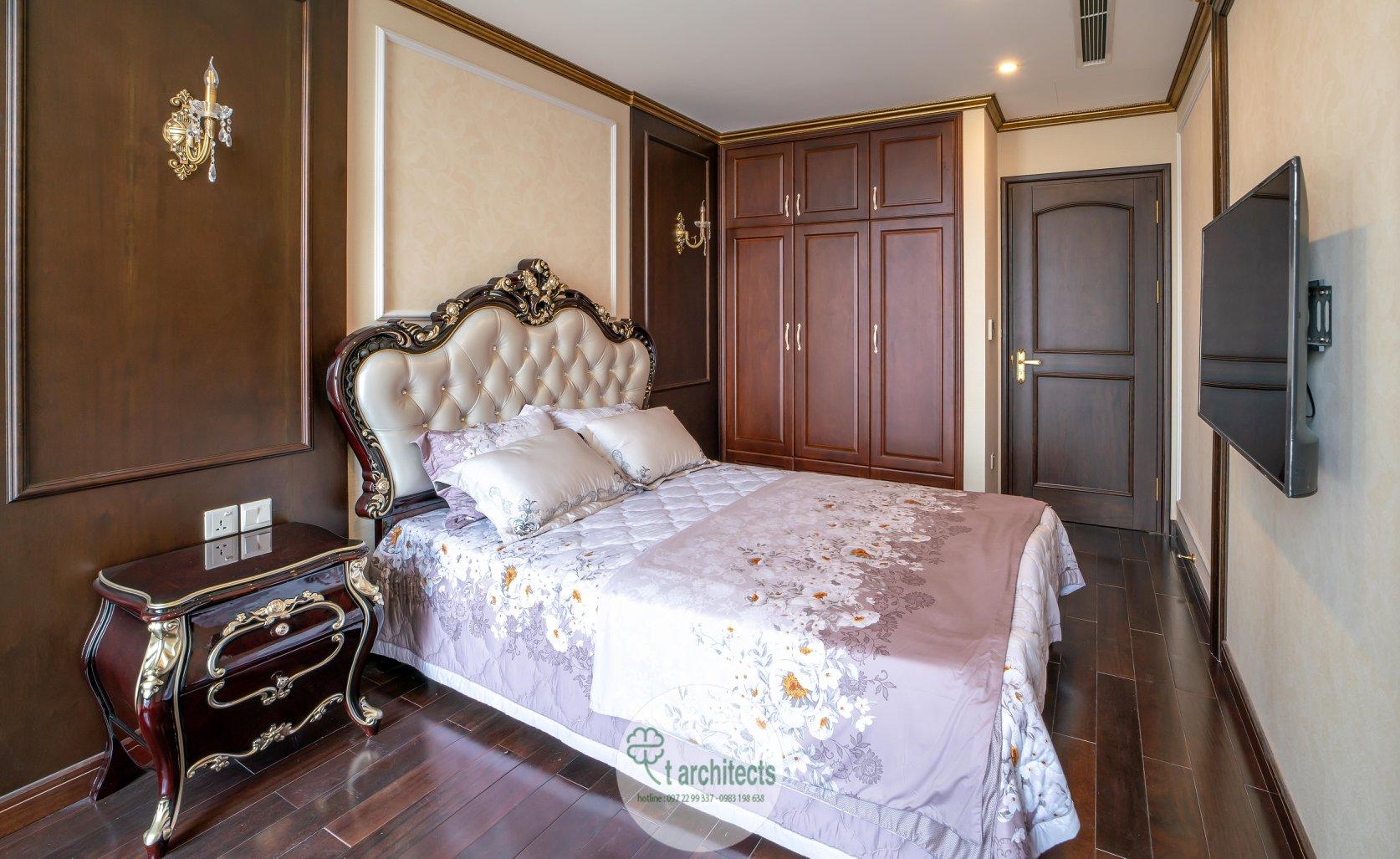 Thiết kế nội thất Chung Cư tại Hà Nội Thiết kế 6 căn hộ mẫu chung cư HC GOLDEN CITY 1589766601 32