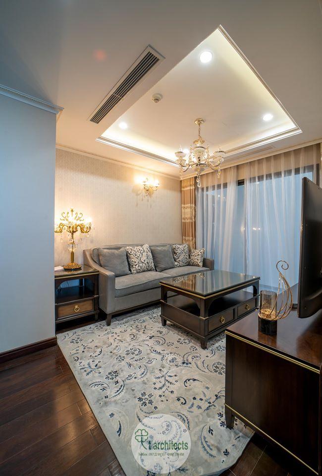 Thiết kế nội thất Chung Cư tại Hà Nội Thiết kế 6 căn hộ mẫu chung cư HC GOLDEN CITY 1589766601 33