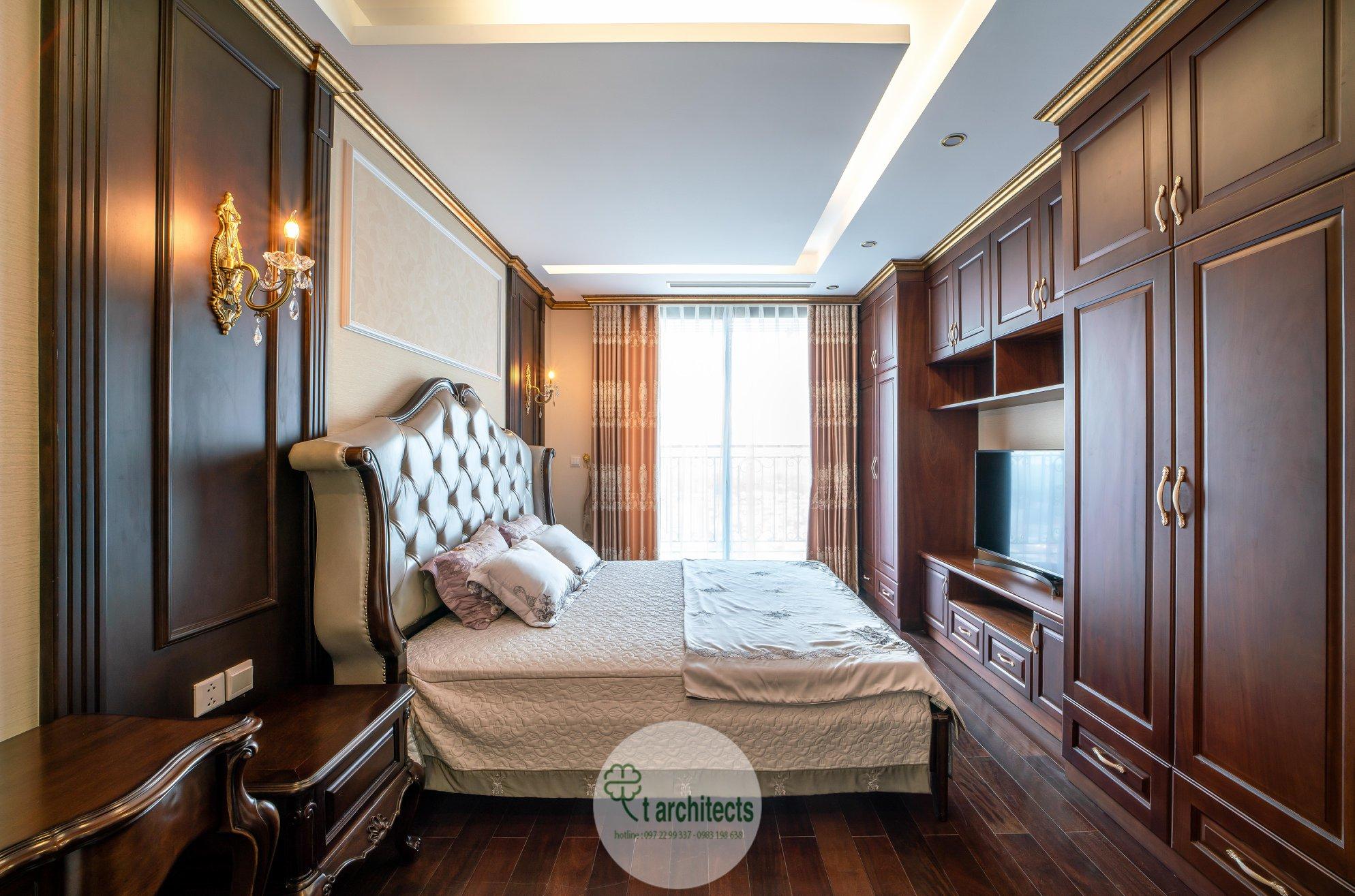 Thiết kế nội thất Chung Cư tại Hà Nội Thiết kế 6 căn hộ mẫu chung cư HC GOLDEN CITY 1589766602 36