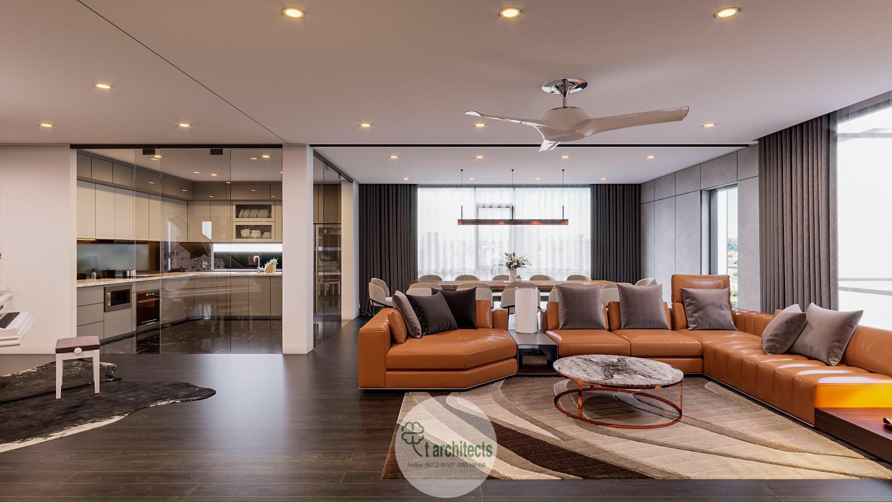 Thiết kế nội thất Chung Cư tại Thanh Hóa Nội thất tầng sinh hoạt của Học Viện Thẩm Mỹ Loan's Spa 1589764319 1