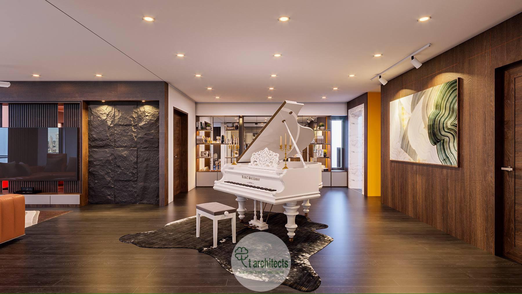 Thiết kế nội thất Chung Cư tại Thanh Hóa Nội thất tầng sinh hoạt của Học Viện Thẩm Mỹ Loan's Spa 1589764319 4