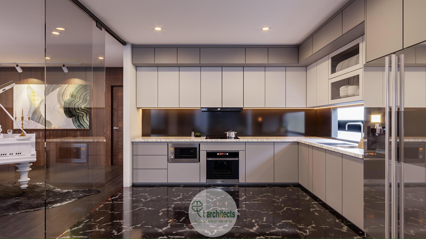 Thiết kế nội thất Chung Cư tại Thanh Hóa Nội thất tầng sinh hoạt của Học Viện Thẩm Mỹ Loan's Spa 1589764320 7