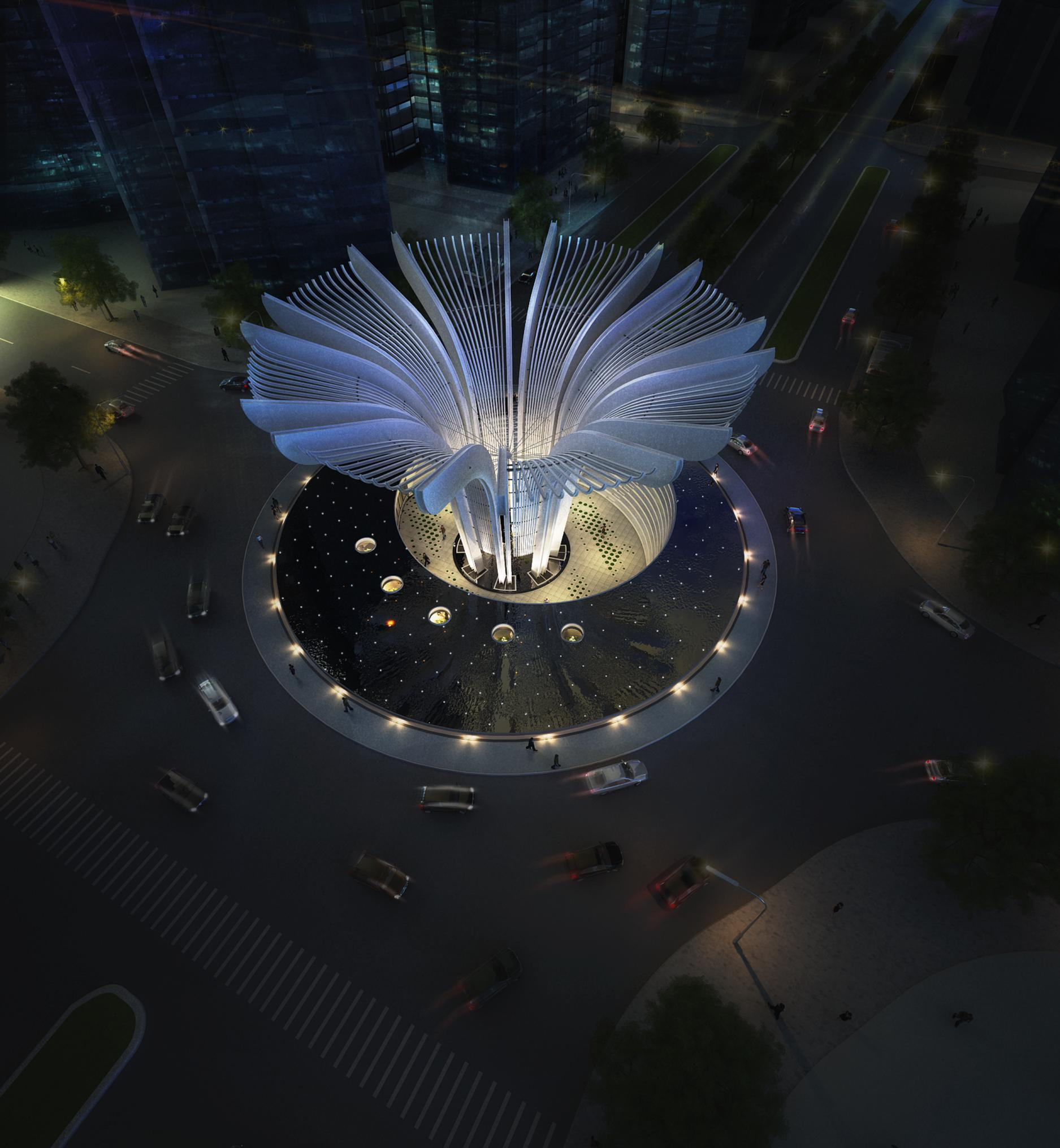 Thiết kế Công Trình Công Cộng tại Hà Nội Biểu tượng khu đô thị Văn Phú 1596100269 0
