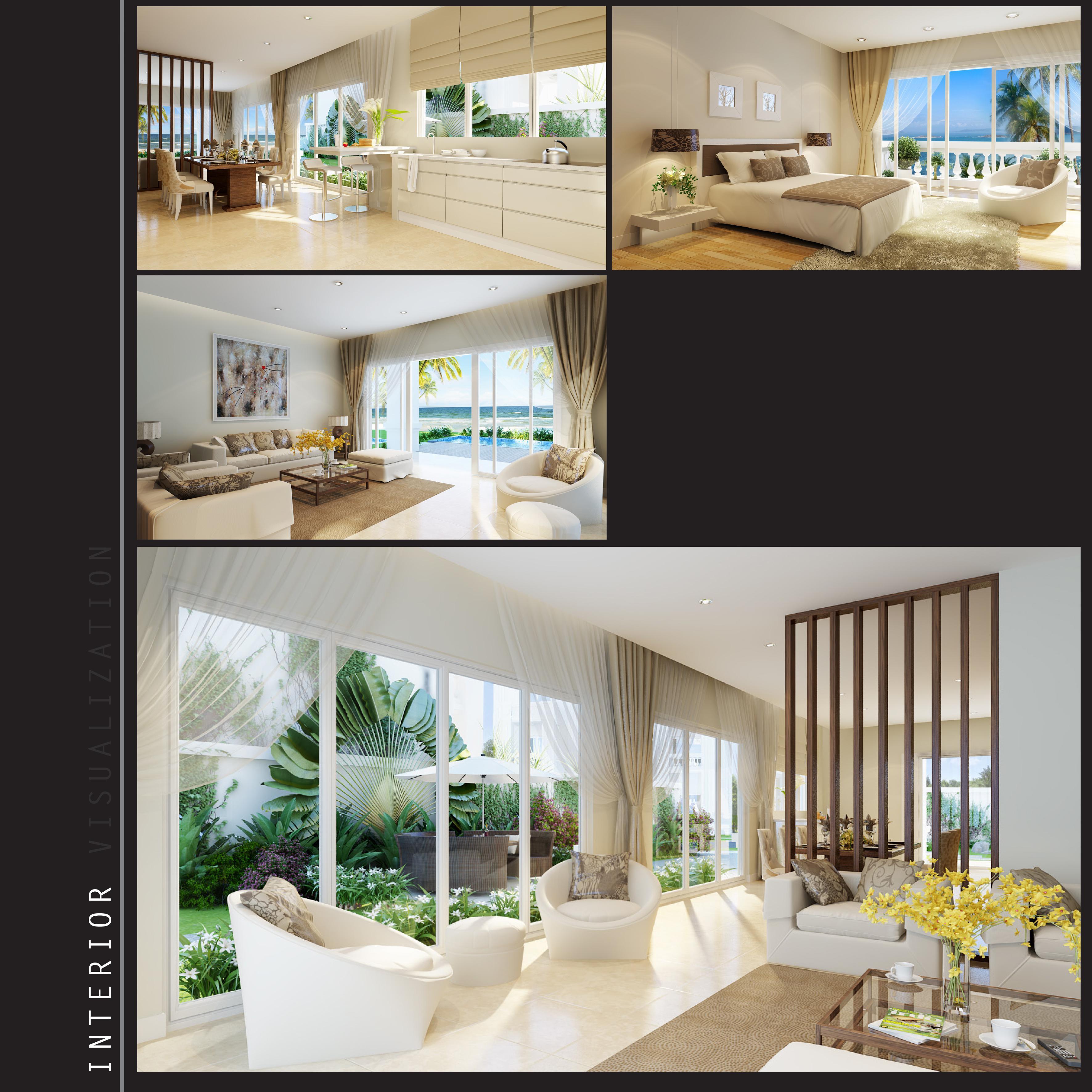thiết kế nội thất chung cư tại Hồ Chí Minh CĂN HỘ TRẺ TRUNG TẠI CC SEASON MỖ LAO 4 1548664068