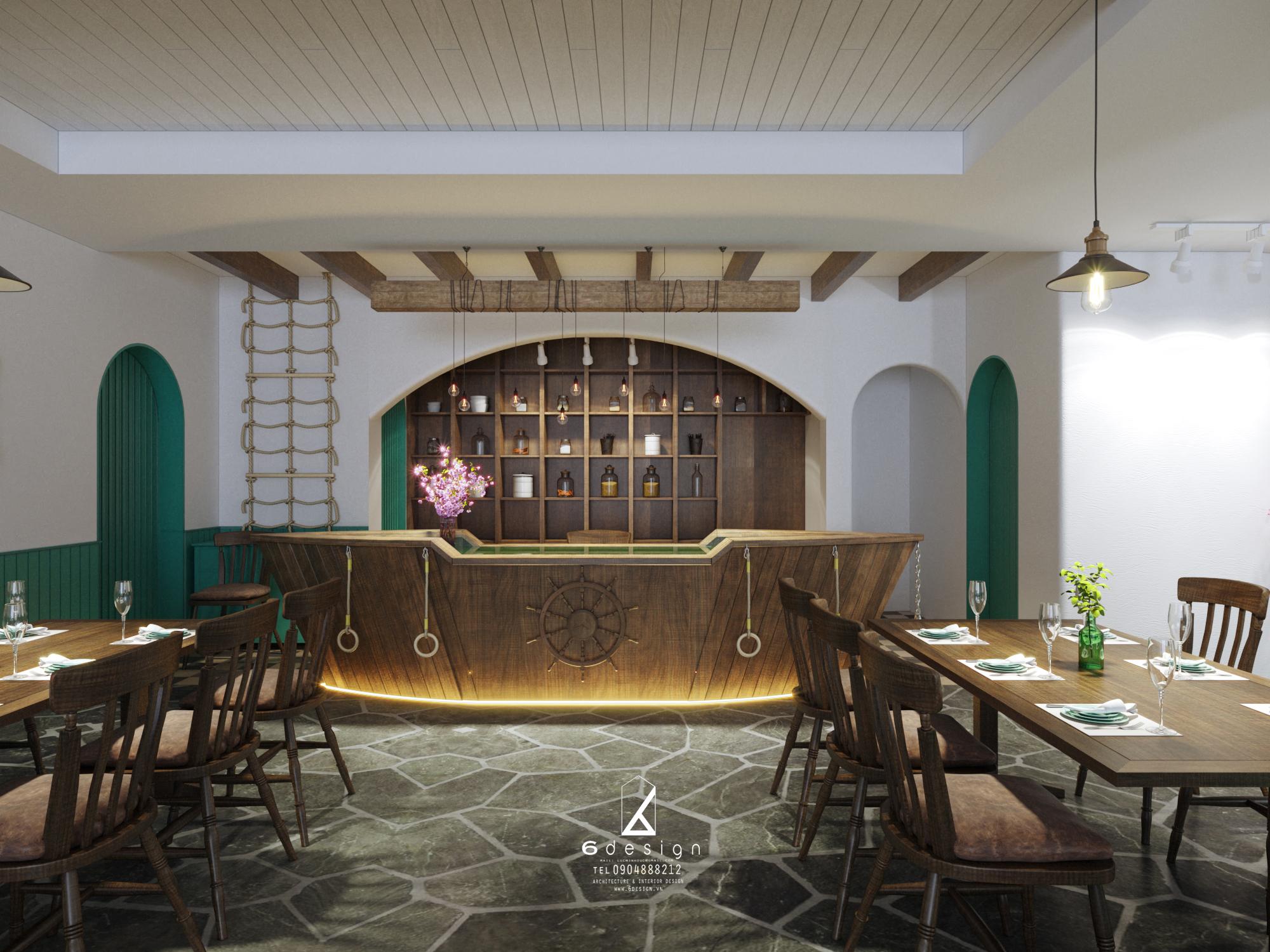 Thiết kế nội thất Nhà Hàng tại Hà Nội NHÀ HÀNG THẾ GIỚI HẢI SẢN 1590724251 5