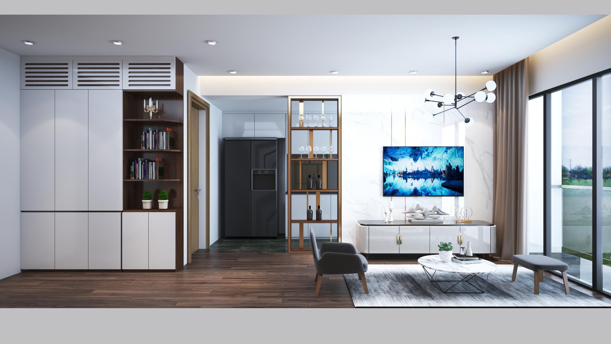 Thiết kế nội thất Chung Cư tại Hà Nội 6 Element Apartment 1584606767 2