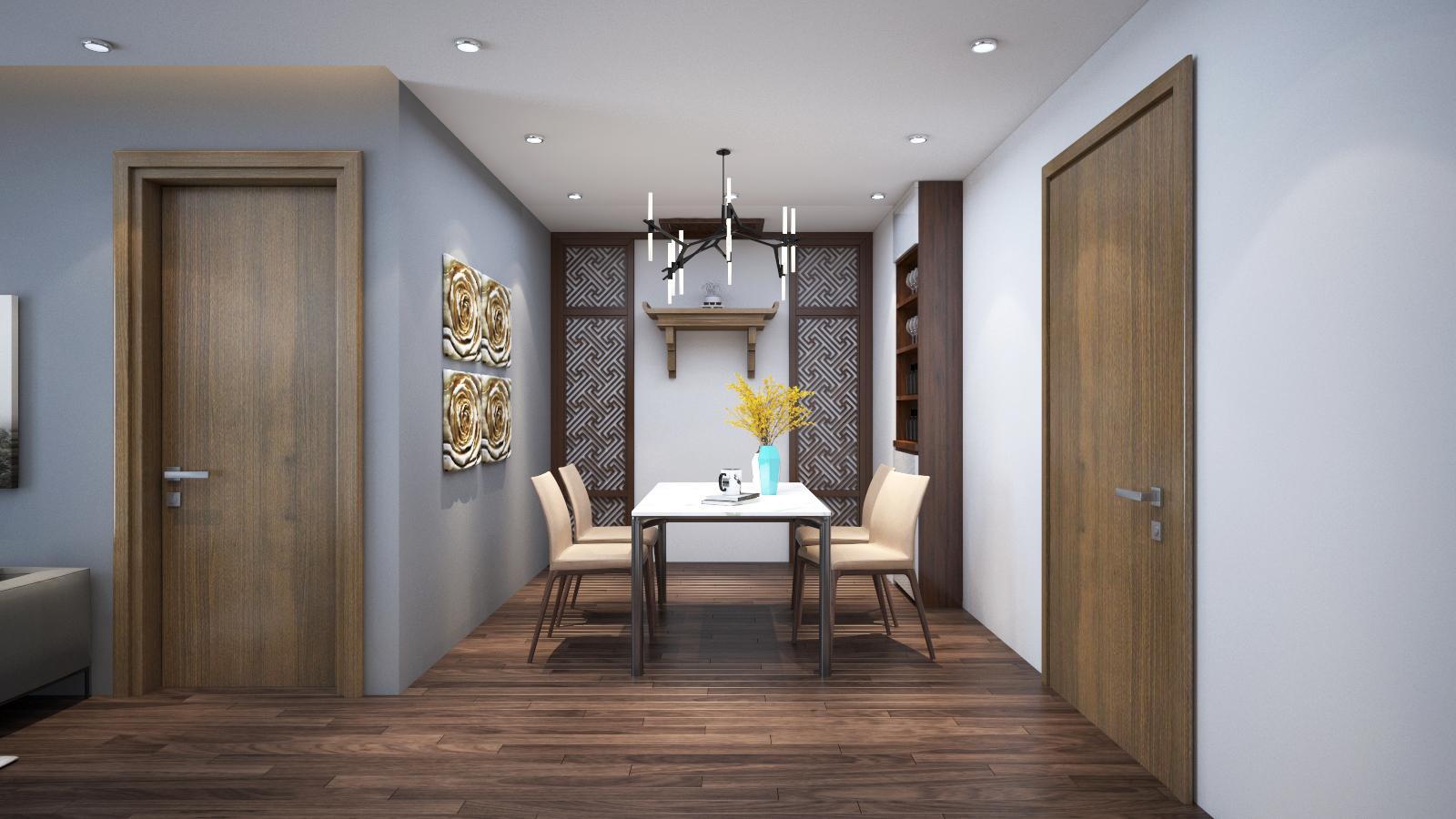 Thiết kế nội thất Chung Cư tại Hà Nội 6 Element Apartment 1584606767 3