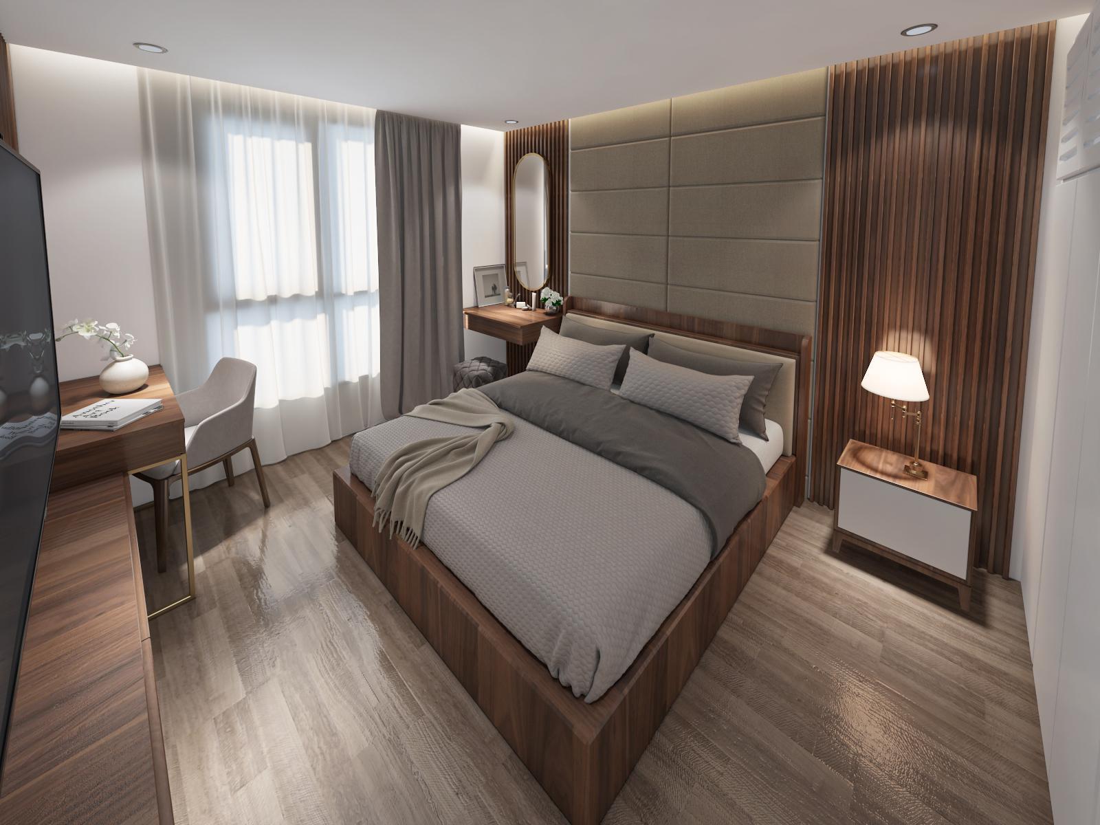 Thiết kế nội thất Chung Cư tại Hà Nội 6 Element Apartment 1584606767 4
