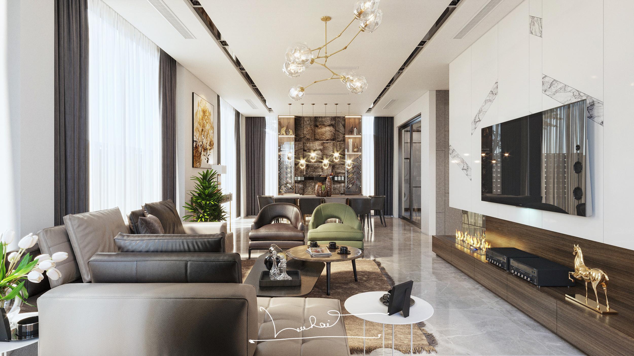 Thiết kế Biệt Thự tại Hải Phòng Vila_02 1575349951 10