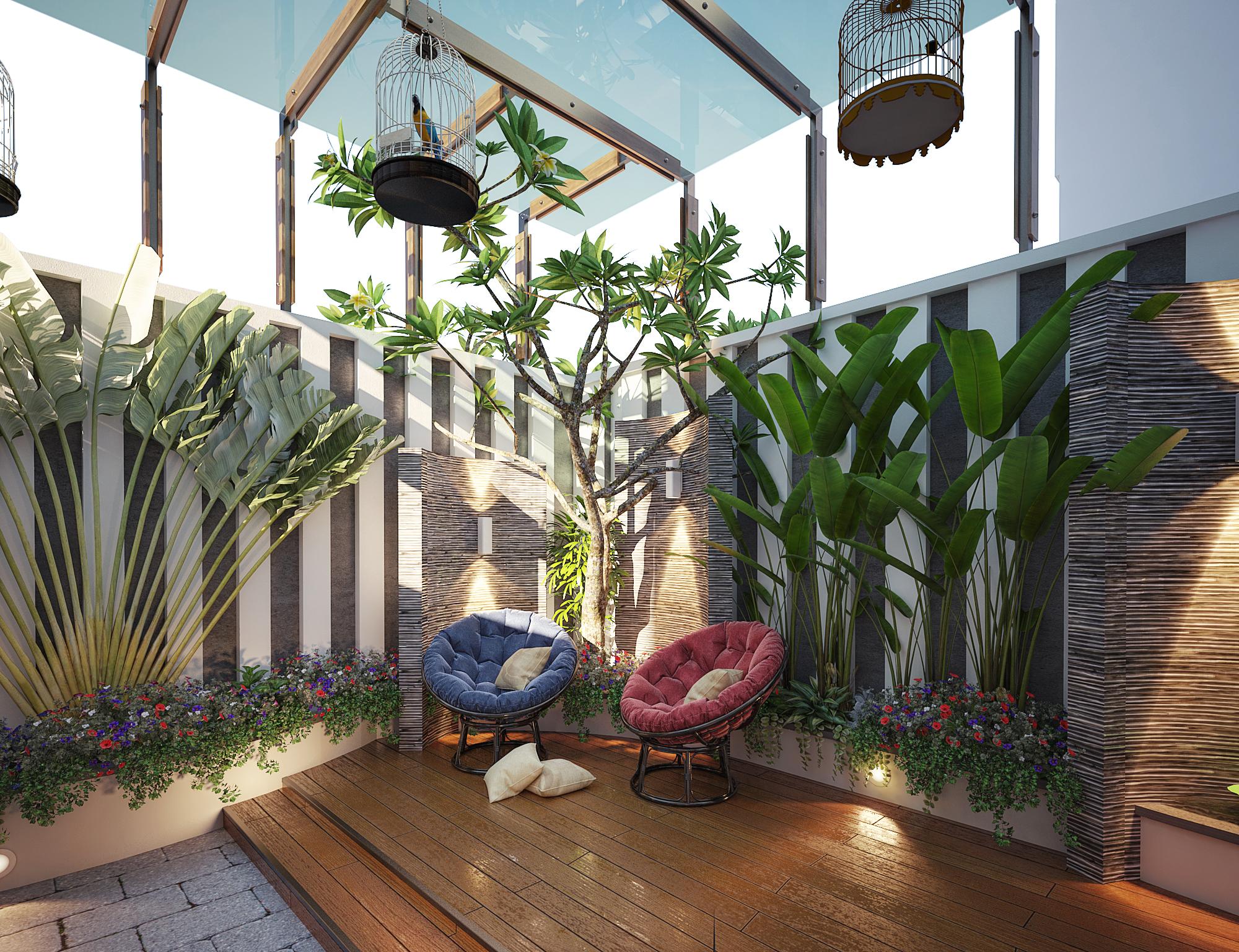 Thiết kế nội thất Biệt Thự tại Sơn La INTERIORO _02 1575334961 8