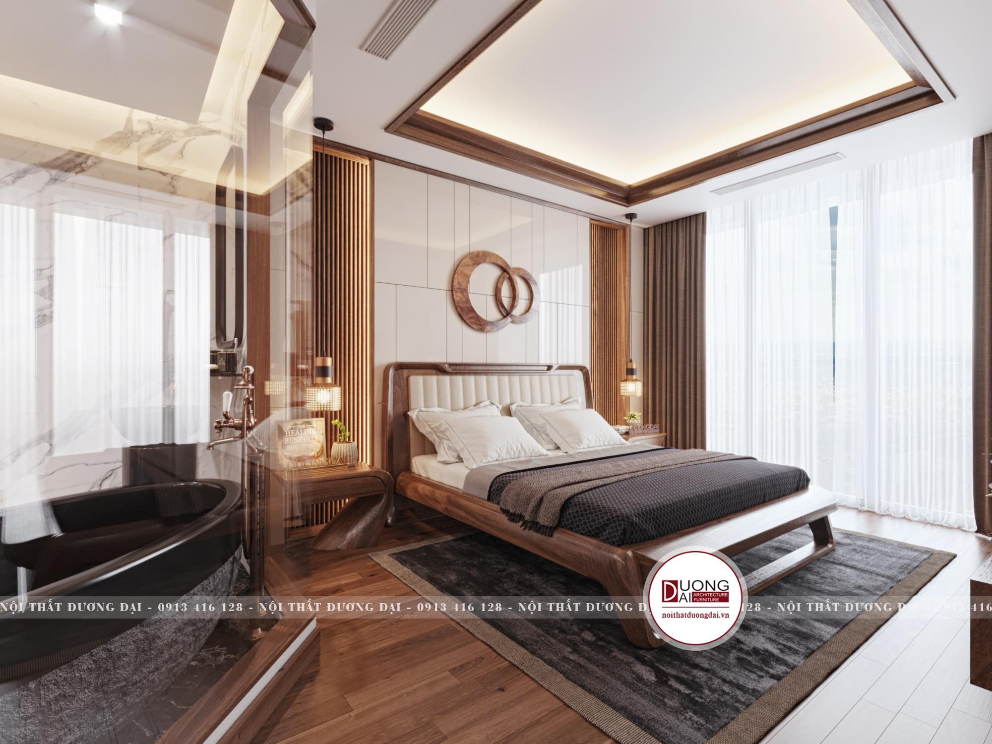 Thiết kế nội thất Chung Cư tại Hà Nội SKY VILLA 01 TẦNG 2 1632153747 2