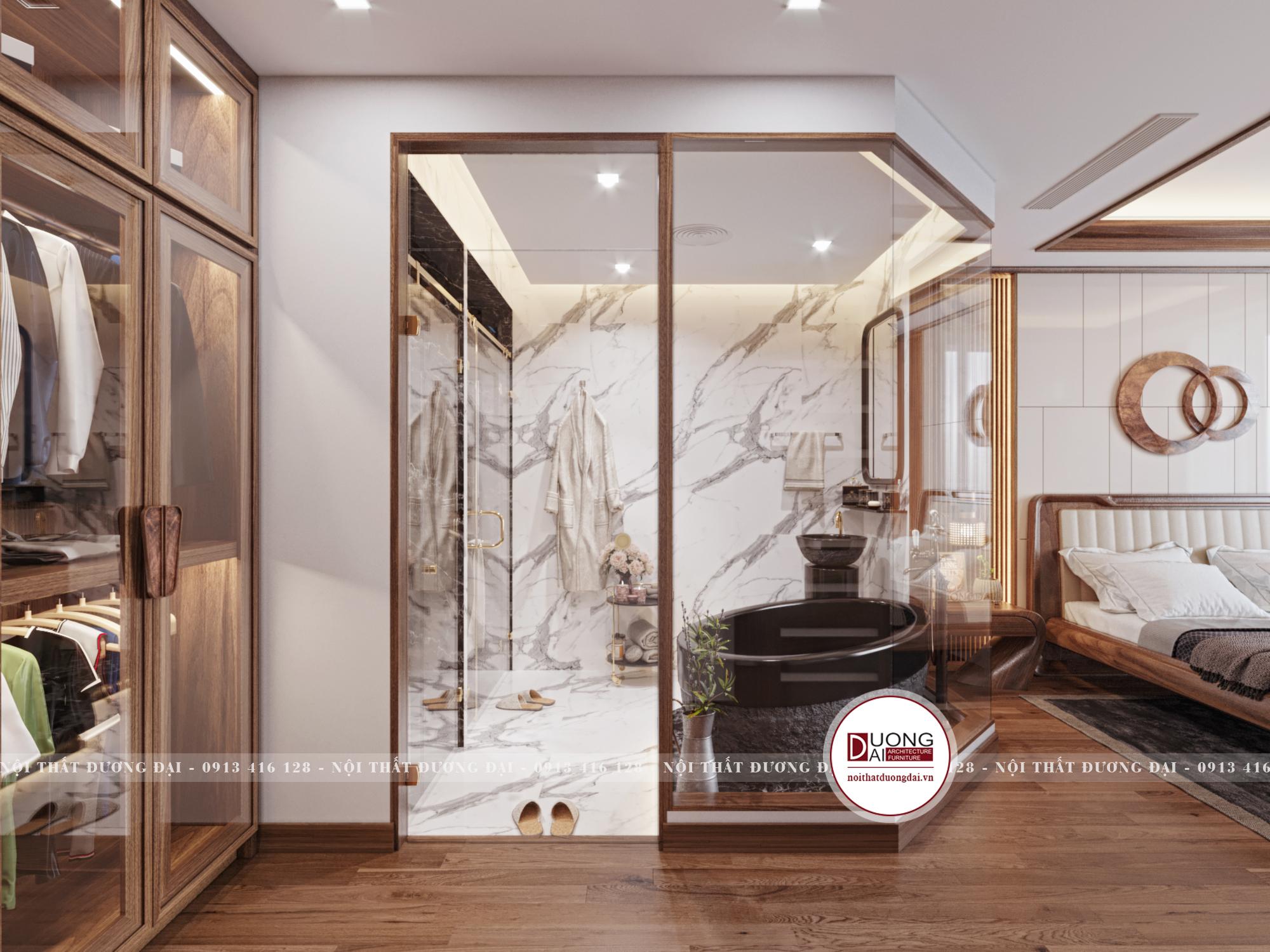 Thiết kế nội thất Chung Cư tại Hà Nội SKY VILLA 01 TẦNG 2 1632153748 8