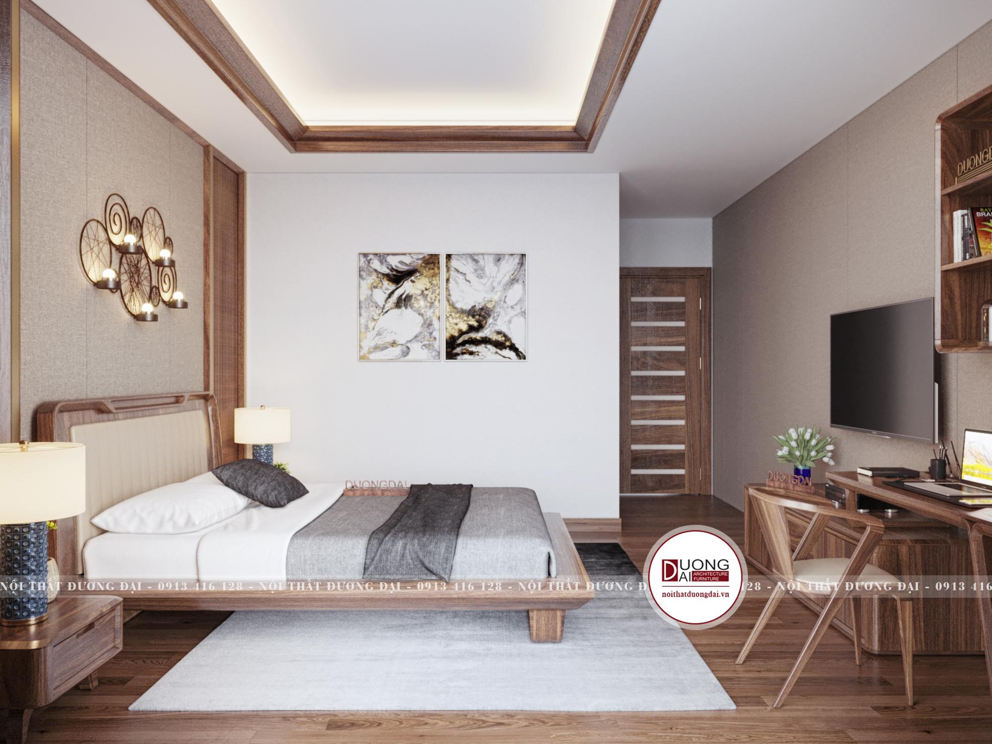Thiết kế nội thất Chung Cư tại Hà Nội SKY VILLA 01 TẦNG 2 1632153749 17