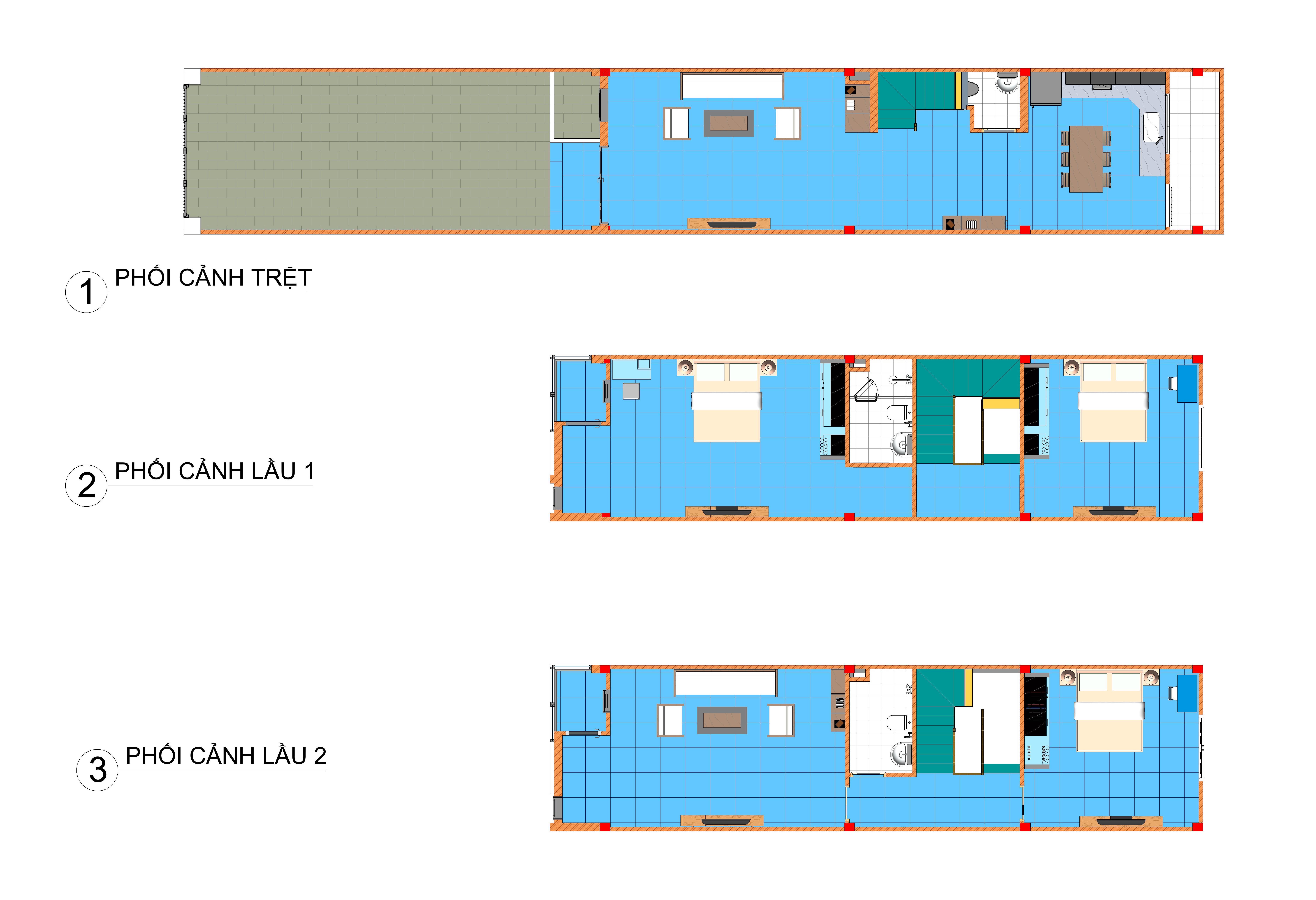 Thiết kế nội thất Nhà Mặt Phố tại Bình Dương Nhà ở riêng lẻ 1586098430 1
