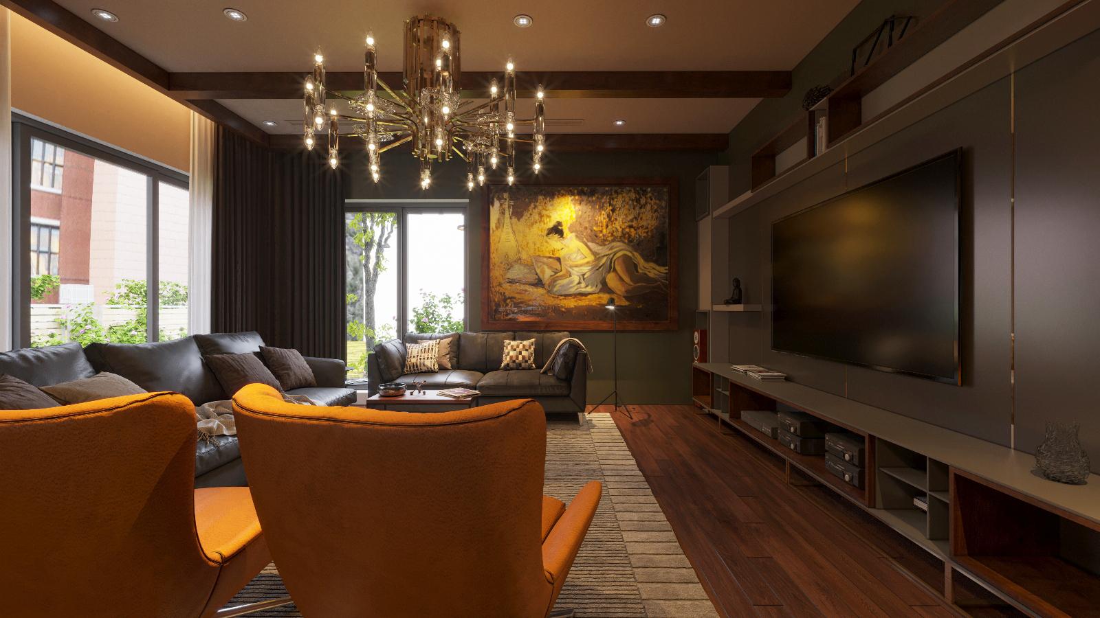 thiết kế Nội thất Biệt Thự 3 tầng biệt thự bt25 splendora mới (lakeside splendora)101