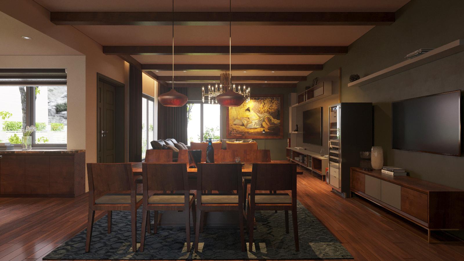 thiết kế Nội thất Biệt Thự 3 tầng biệt thự bt25 splendora mới (lakeside splendora)23