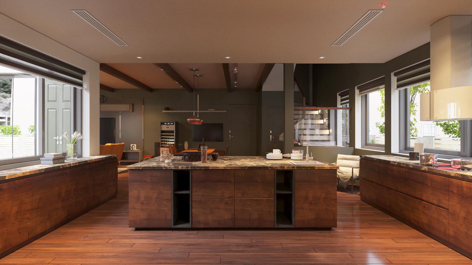 thiết kế Nội thất Biệt Thự 3 tầng biệt thự bt25 splendora mới (lakeside splendora)39