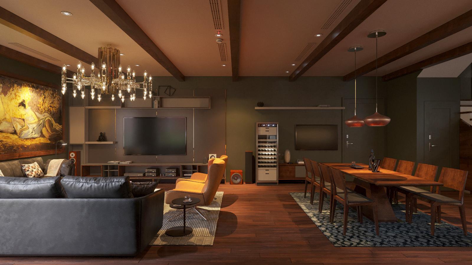 thiết kế Nội thất Biệt Thự 3 tầng biệt thự bt25 splendora mới (lakeside splendora)66