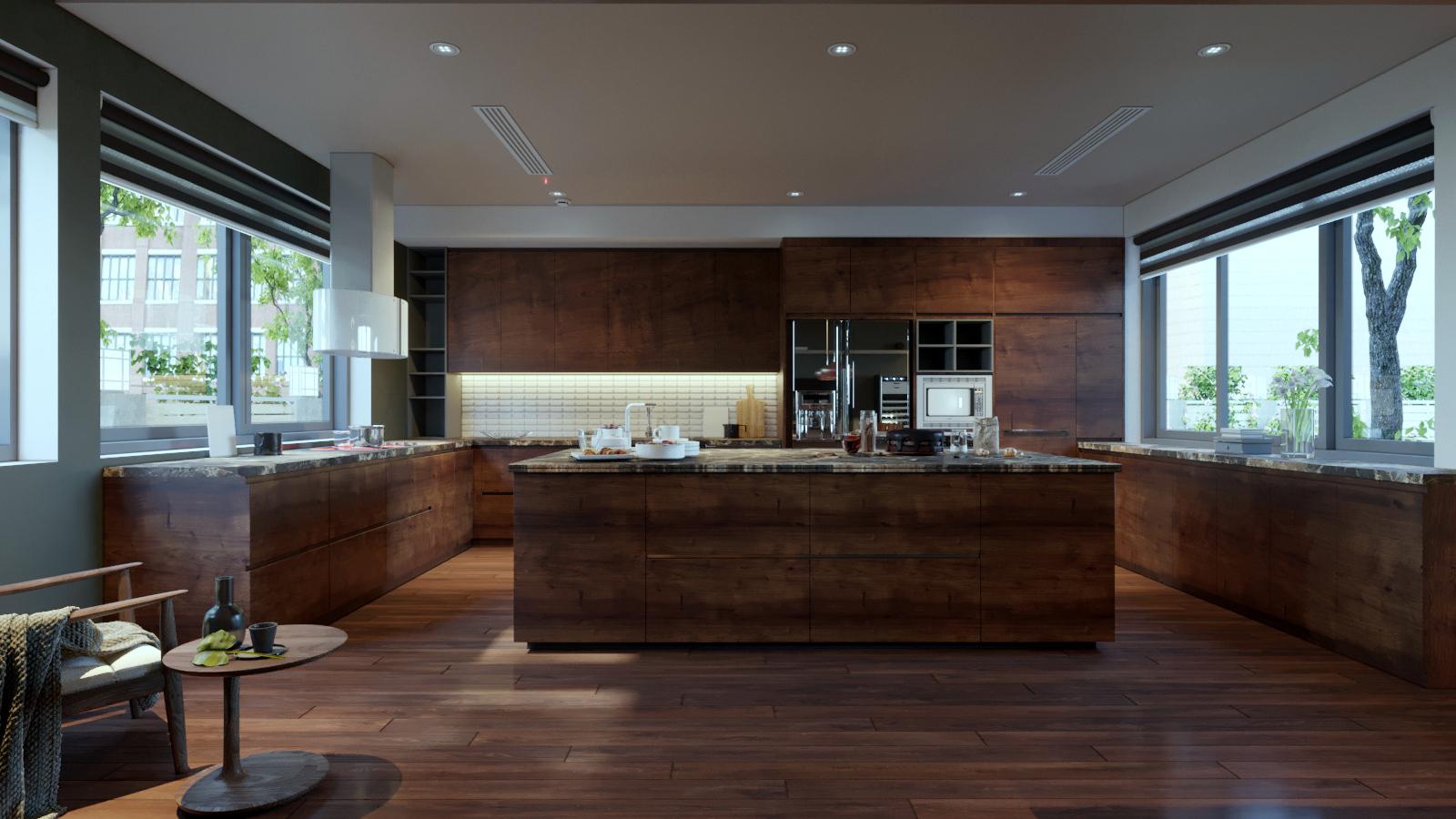 thiết kế Nội thất Biệt Thự 3 tầng biệt thự bt25 splendora mới (lakeside splendora)78