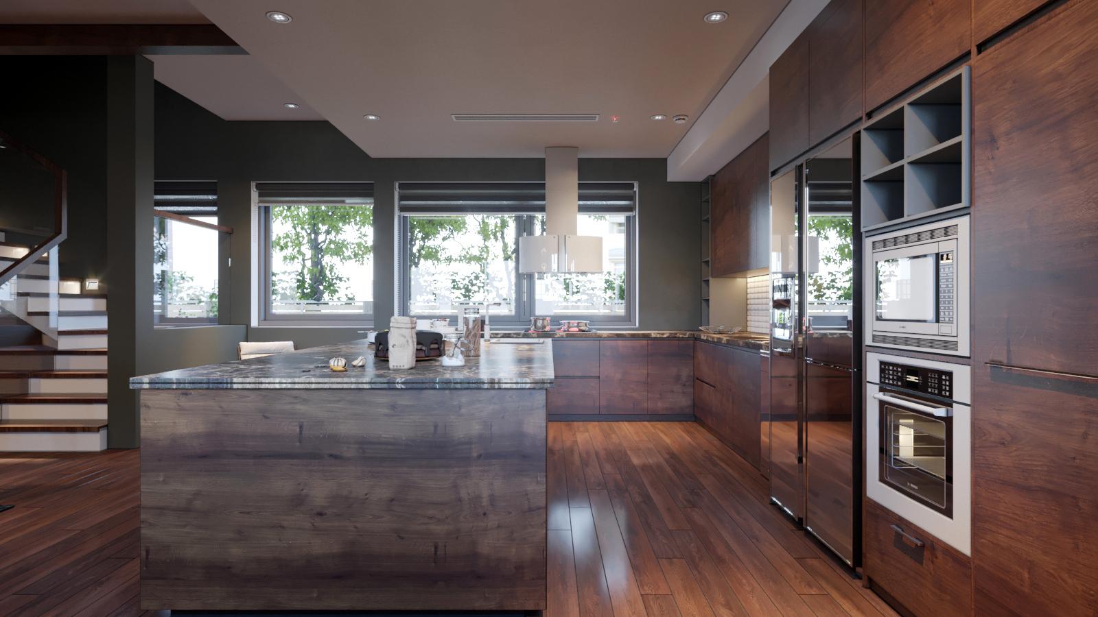 thiết kế Nội thất Biệt Thự 3 tầng biệt thự bt25 splendora mới (lakeside splendora)90