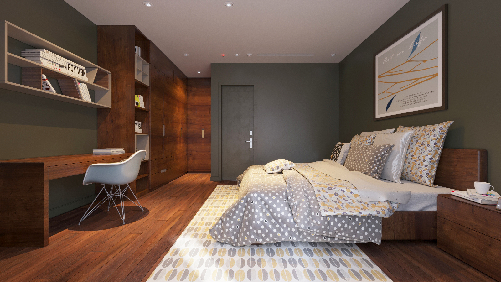 thiết kế Nội thất Biệt Thự 3 tầng biệt thự bt25 splendora mới (lakeside splendora)137