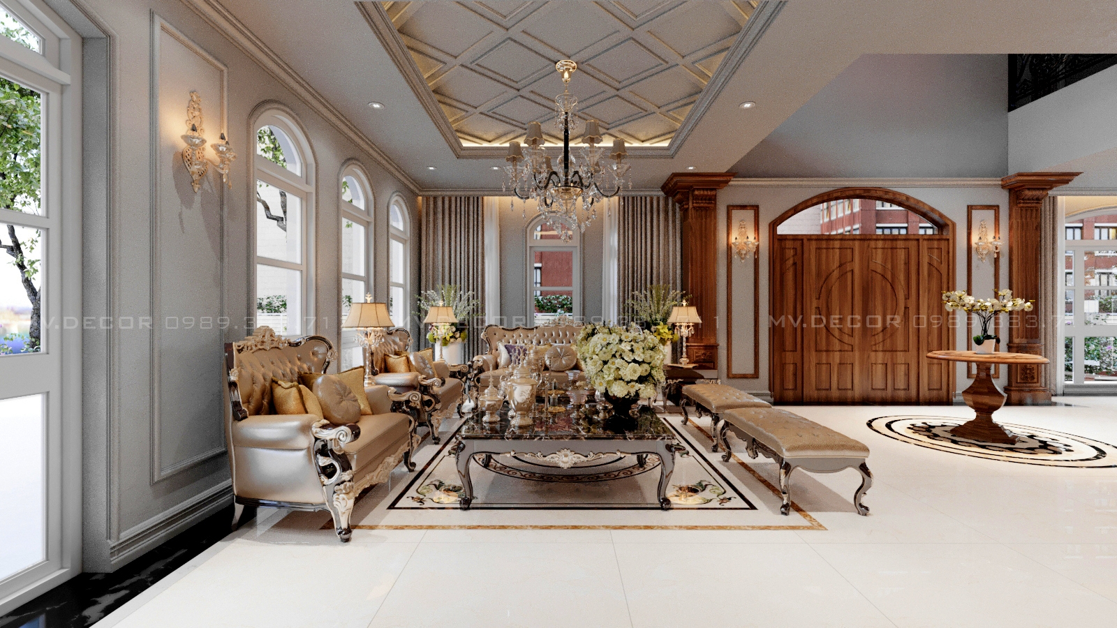 thiết kế nội thất Biệt Thự tại Hải Phòng BT VINHOME HẢI PHÒNG 0 1562719446