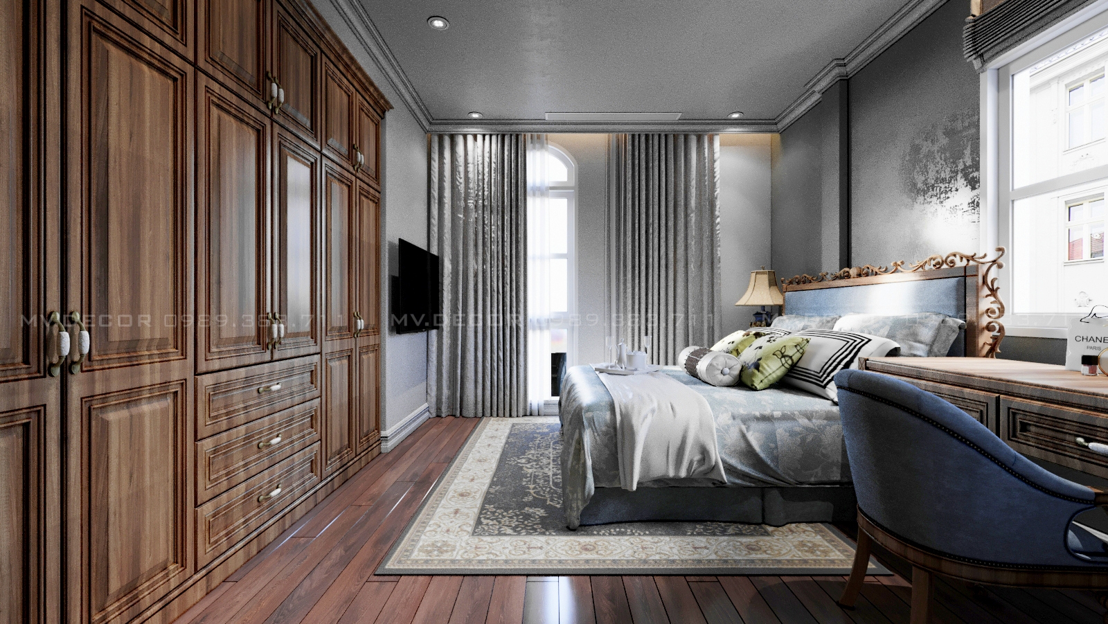 thiết kế nội thất Biệt Thự tại Hải Phòng BT VINHOME HẢI PHÒNG 11 1562719450