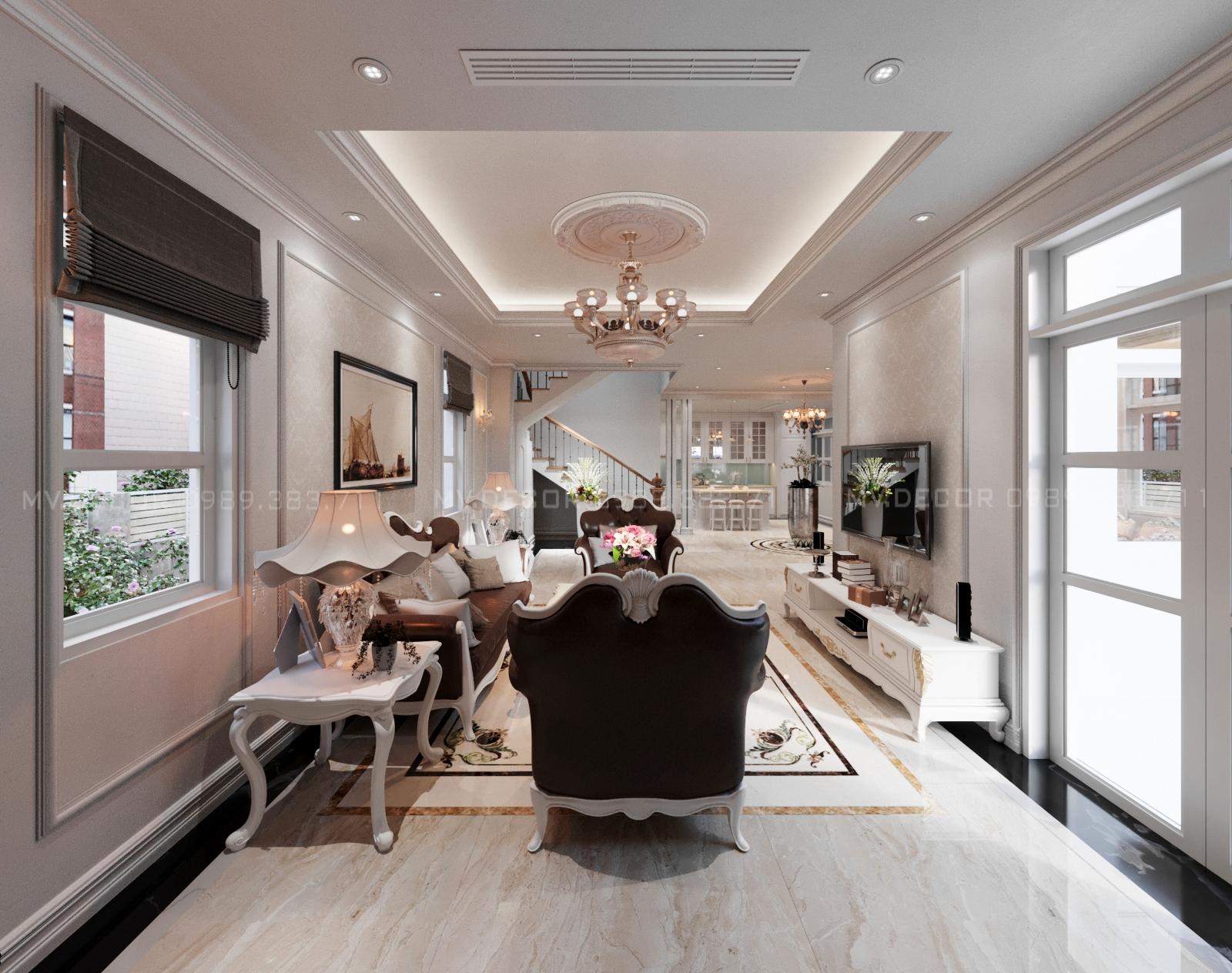 thiết kế nội thất Biệt Thự tại Hải Phòng BT VENICE 6-26 1 1564932011