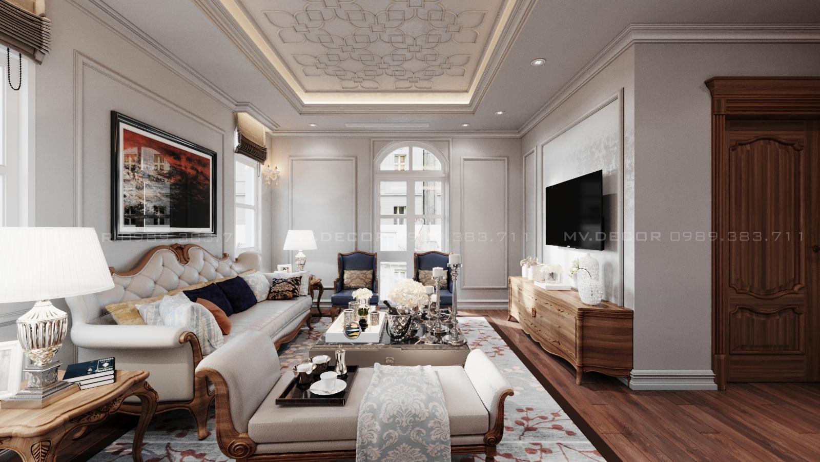 thiết kế nội thất Biệt Thự tại Hải Phòng BT VINHOME HẢI PHÒNG 16 1562719451