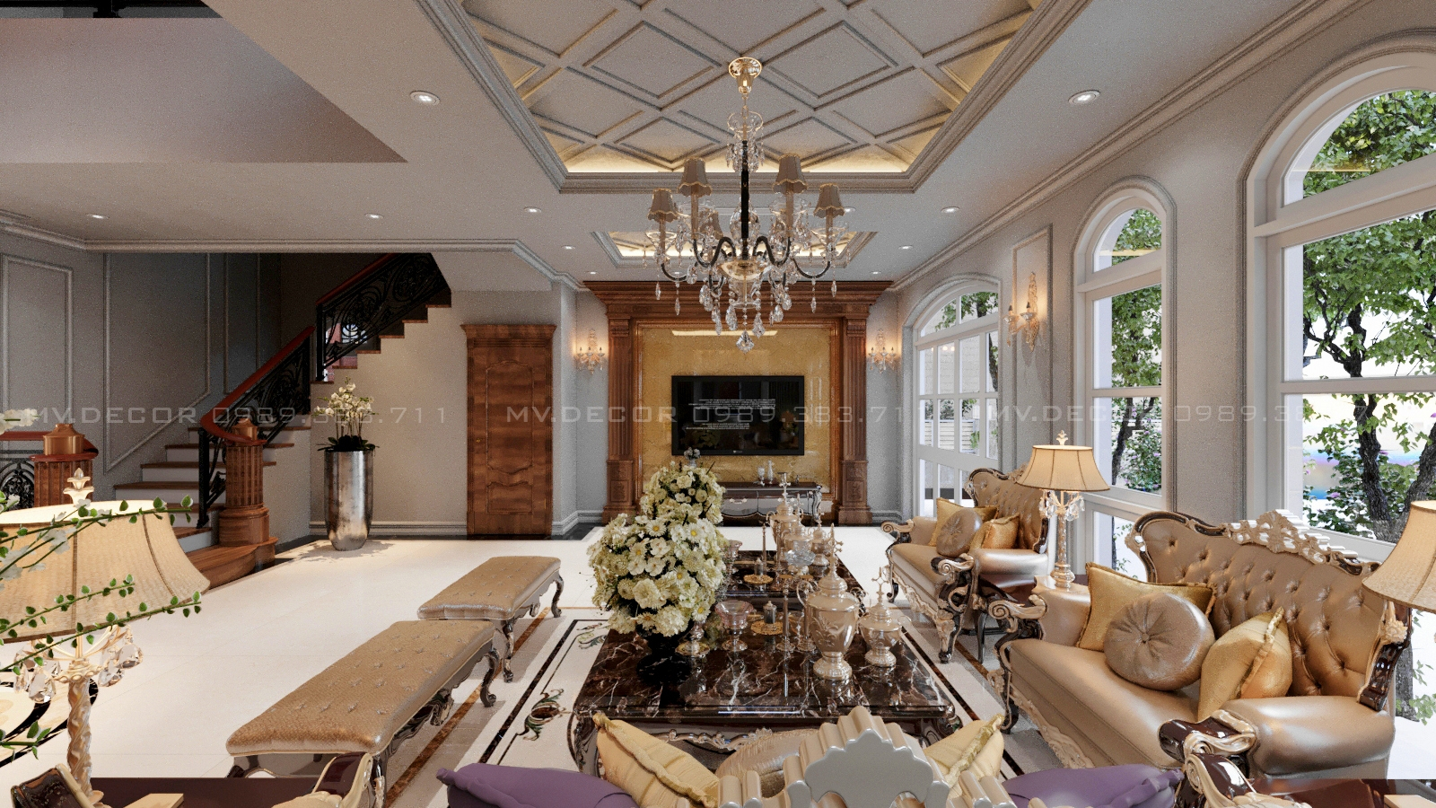 thiết kế nội thất Biệt Thự tại Hải Phòng BT VINHOME HẢI PHÒNG 2 1562719448