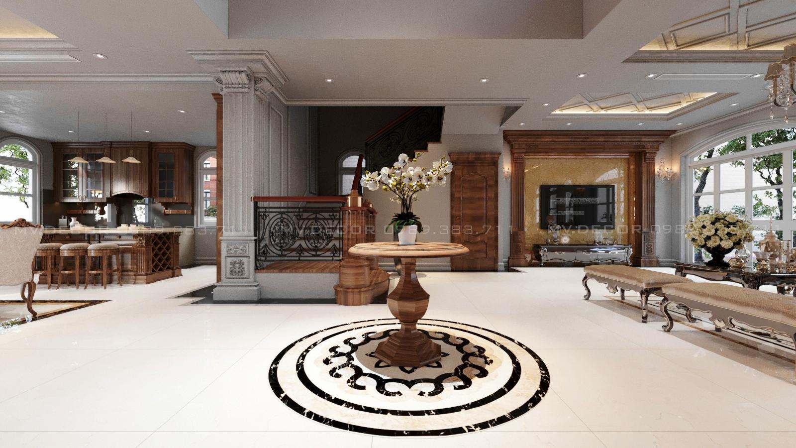 thiết kế nội thất Biệt Thự tại Hải Phòng BT VINHOME HẢI PHÒNG 3 1562719448