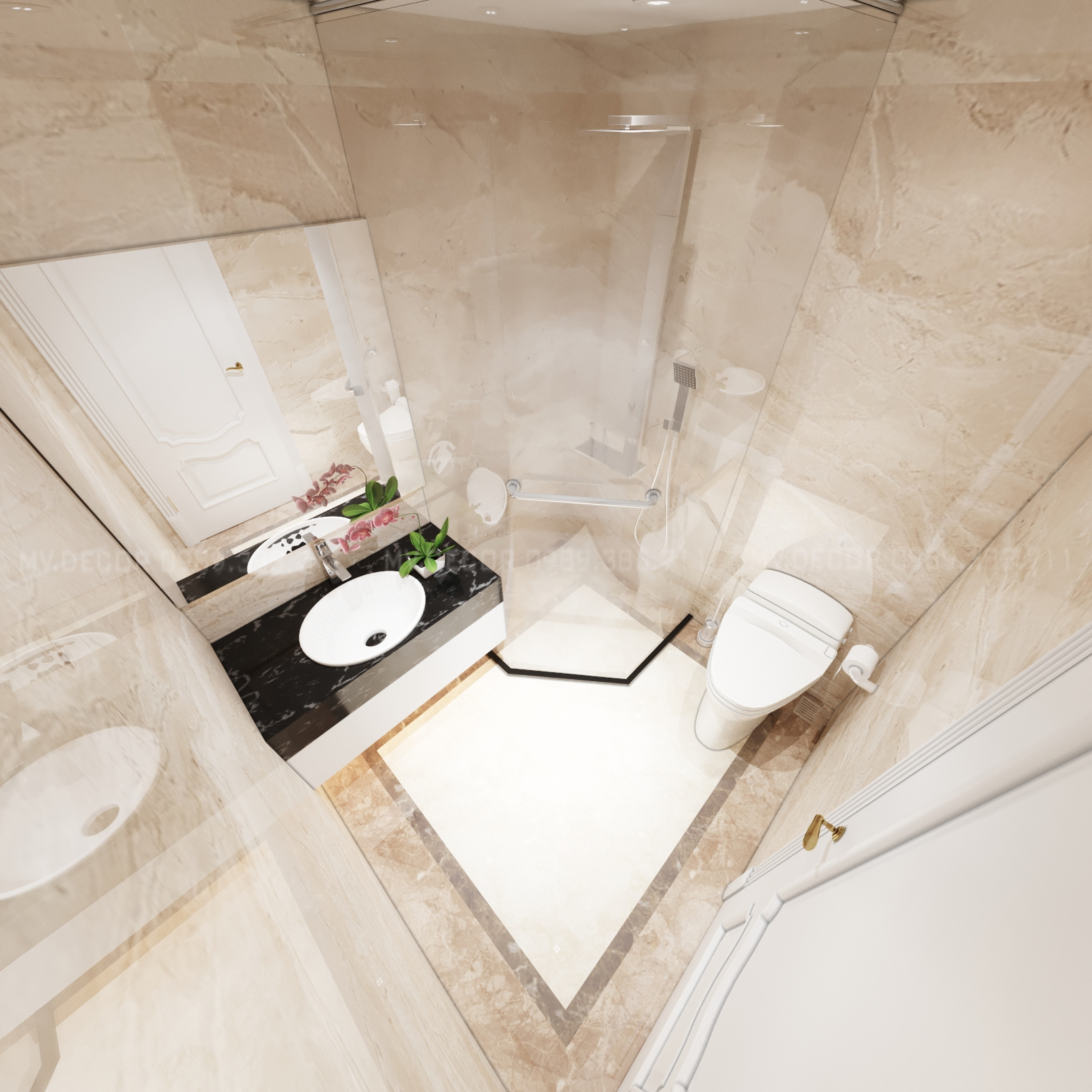thiết kế nội thất Biệt Thự tại Hải Phòng BT VENICE 6-26 35 1564932023