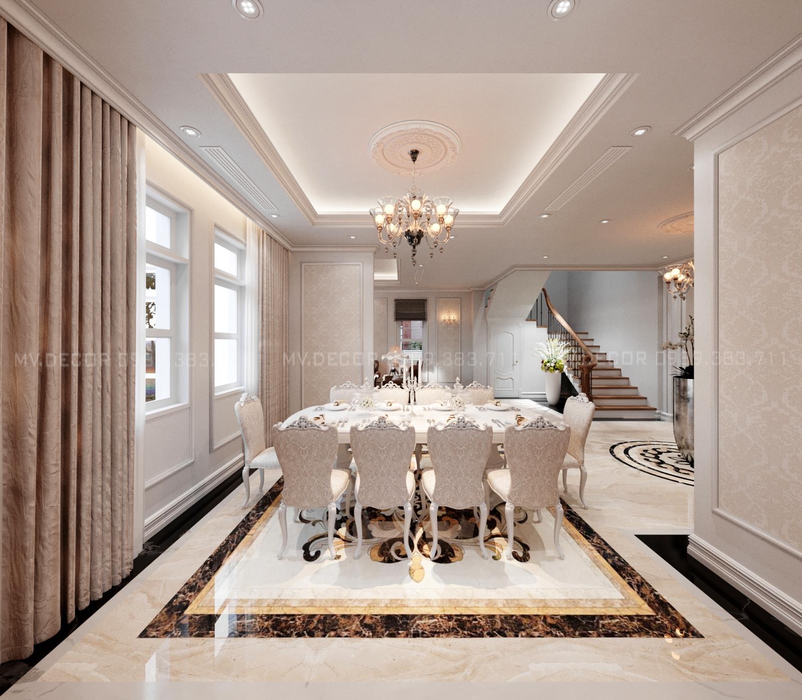 thiết kế nội thất Biệt Thự tại Hải Phòng BT VENICE 6-26 4 1564932011