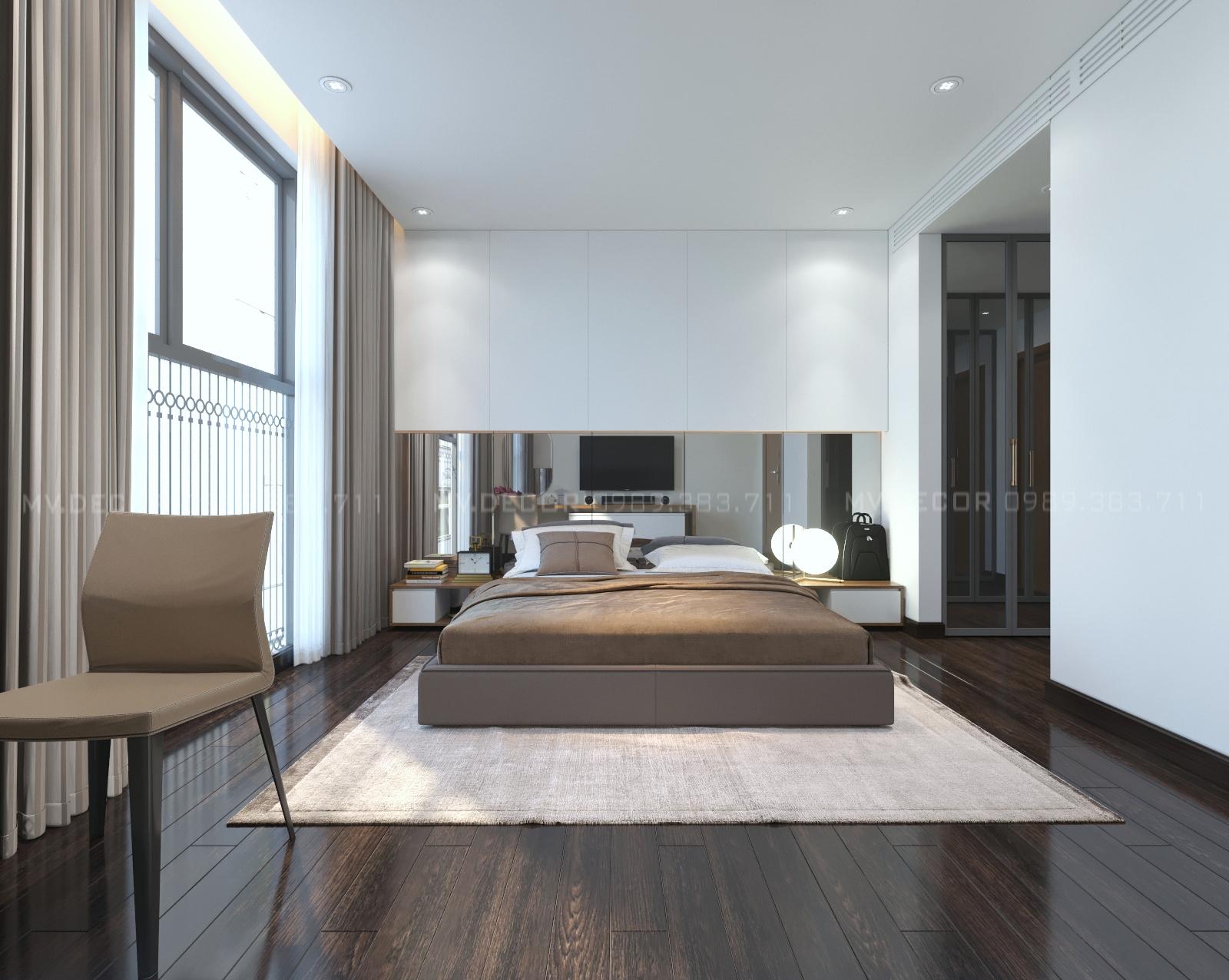 thiết kế nội thất chung cư tại Hà Nội duplex tân hoàng minh hoàng cầu 13 1550072053