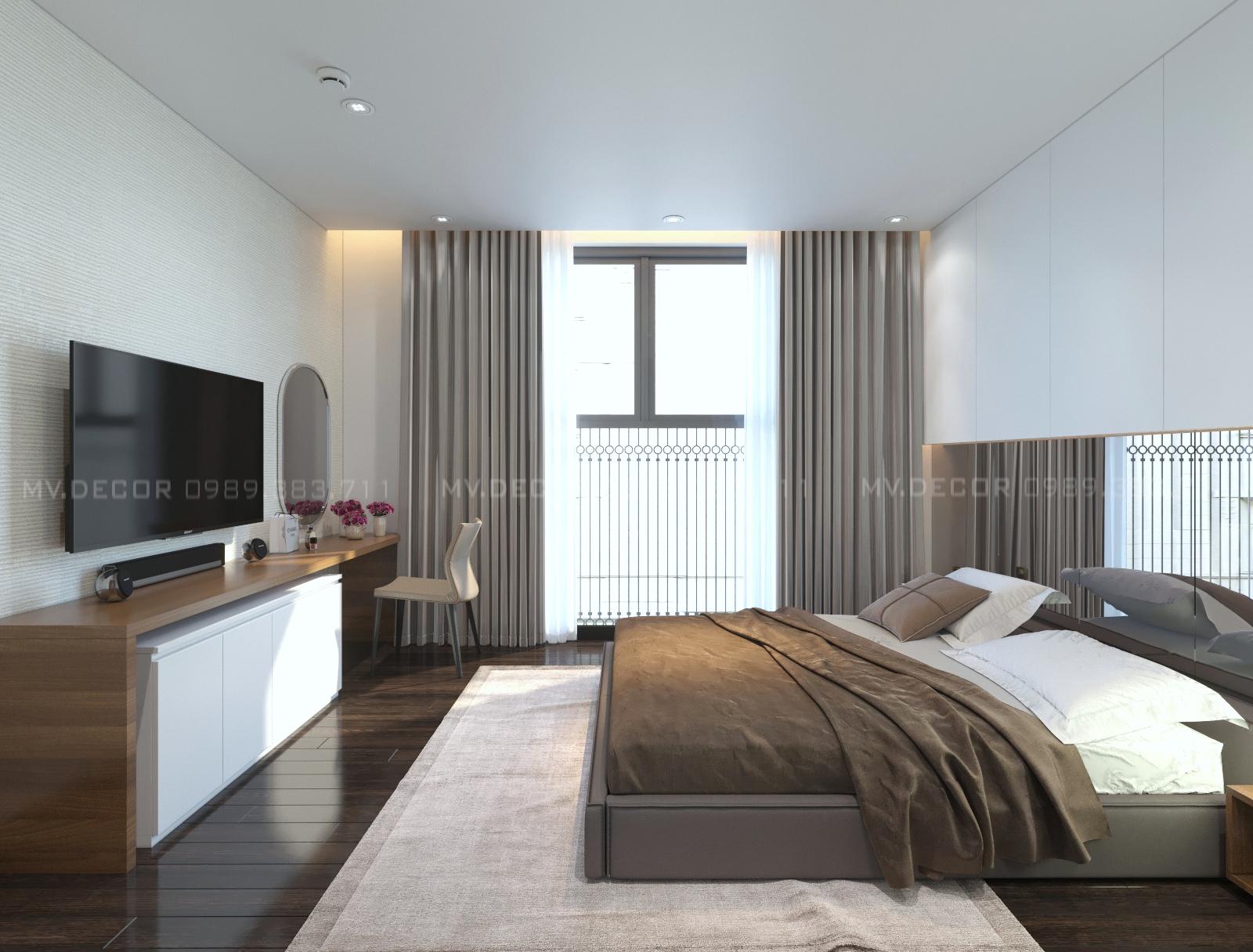 thiết kế nội thất chung cư tại Hà Nội duplex tân hoàng minh hoàng cầu 14 1550072053