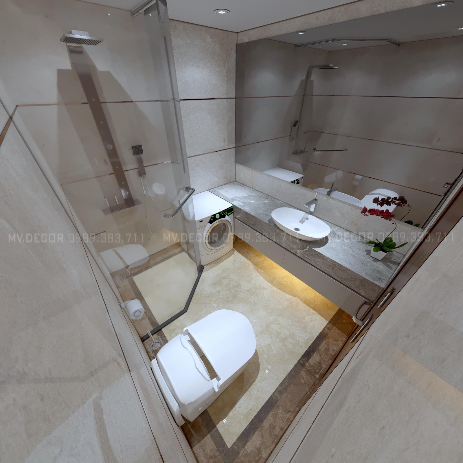 thiết kế nội thất chung cư tại Hà Nội duplex tân hoàng minh hoàng cầu 23 1550072062